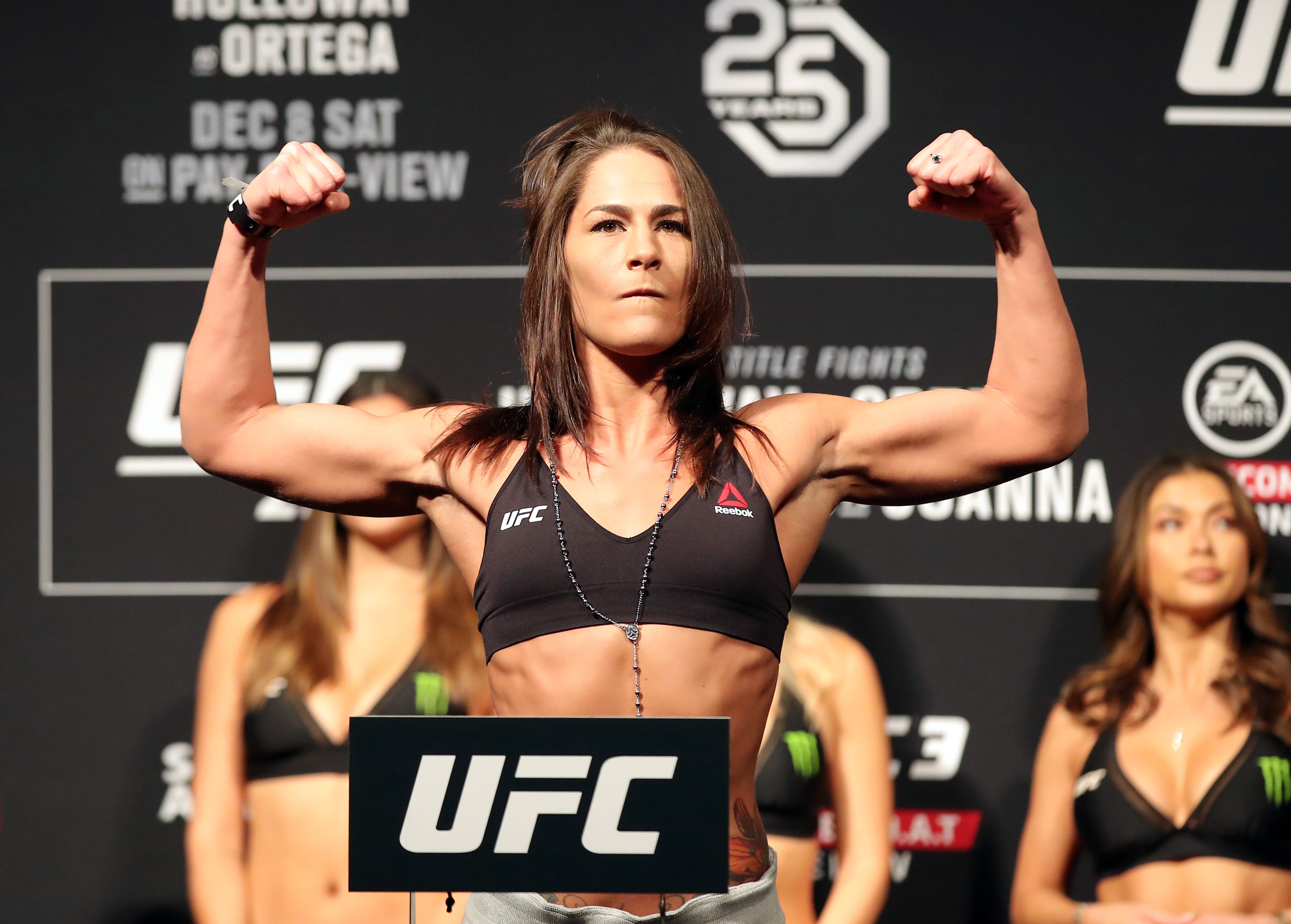 UFC 245: Jessica Eye apologizes for missing weight for her upcoming fight