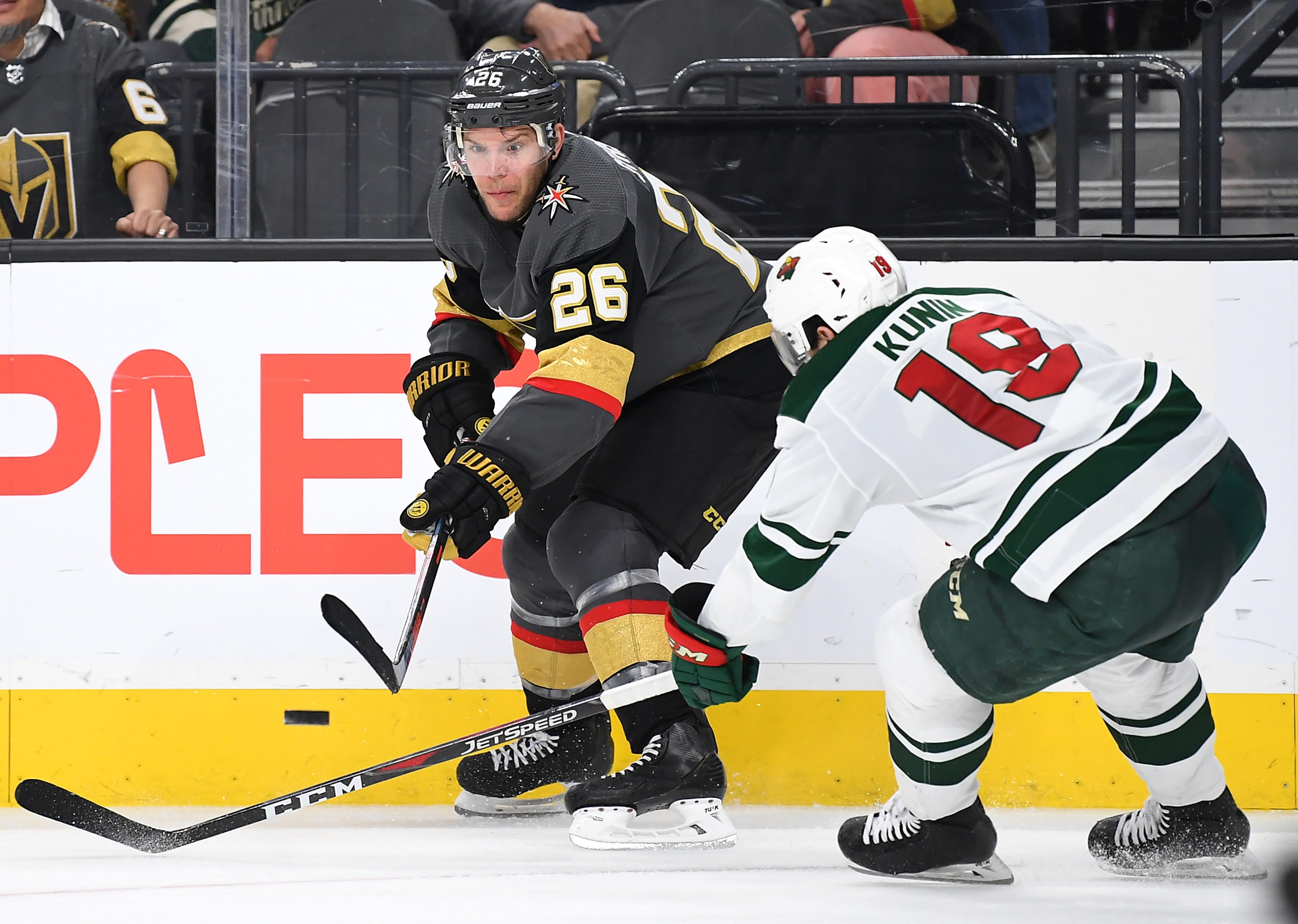 Game Preview: Minnesota Wild vs. Vegas Golden Knights 12/17/19 @ 9:00PM CST at T-Mobile Arena