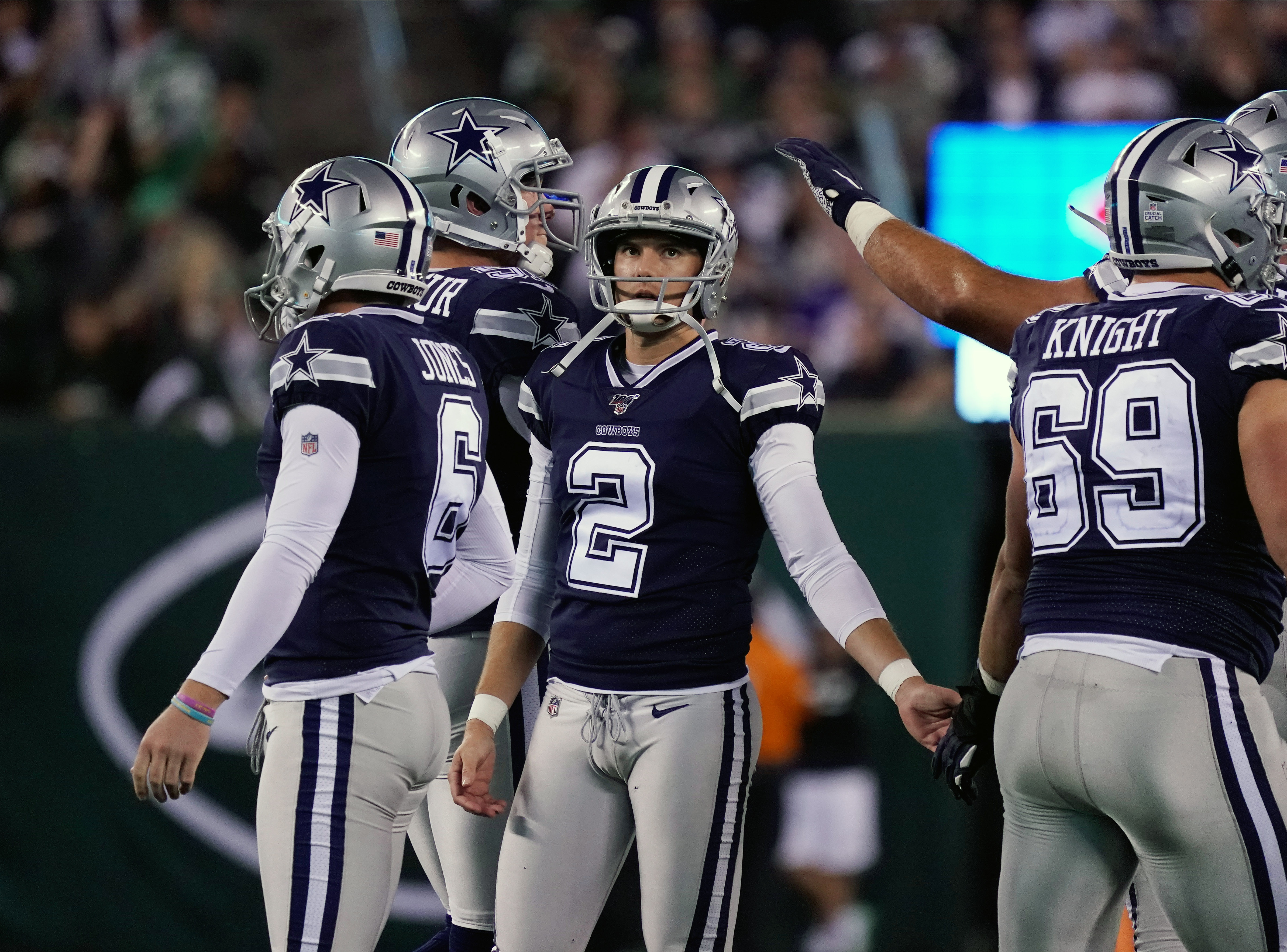 Cowboys cut kicker after he visited sick kids in the hospital