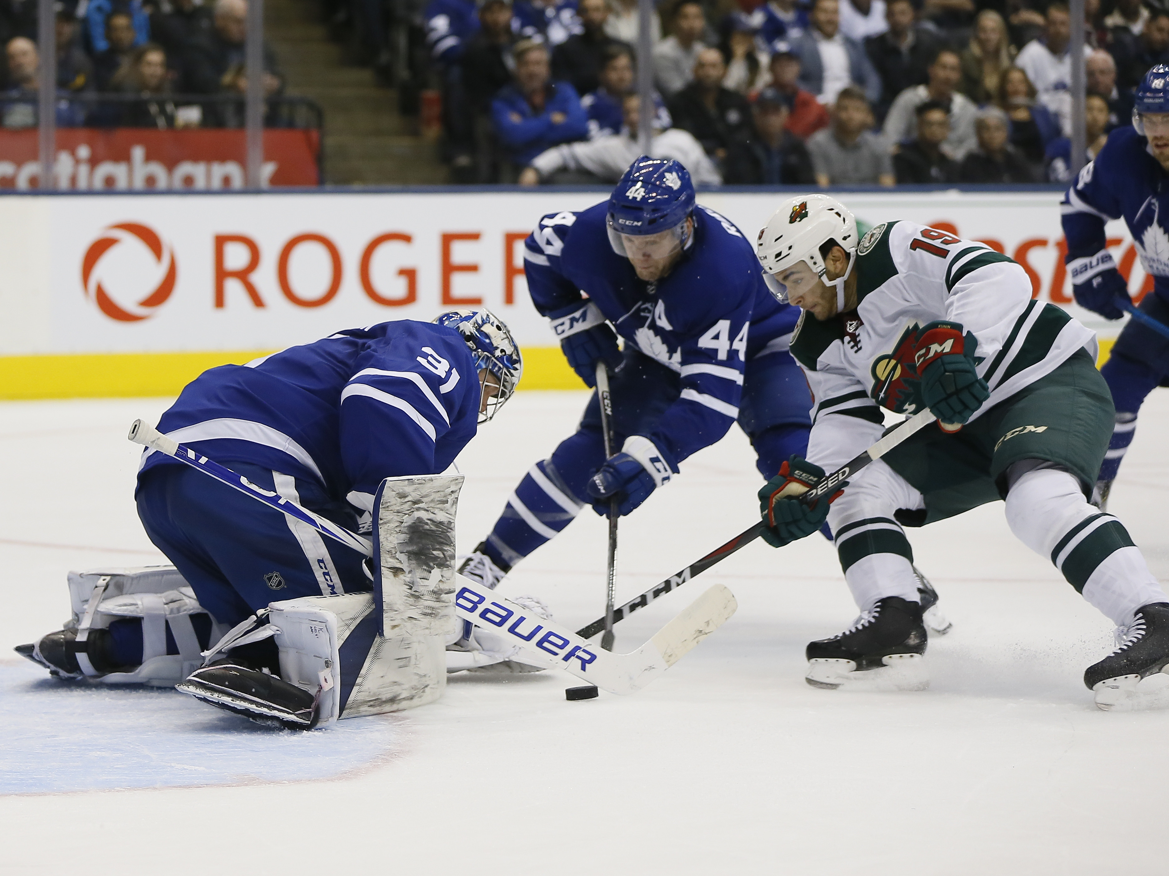 Game Preview: Minnesota Wild vs. Toronto Maple Leafs 12/31/19 @ 5:00PM CST at Xcel Energy Center