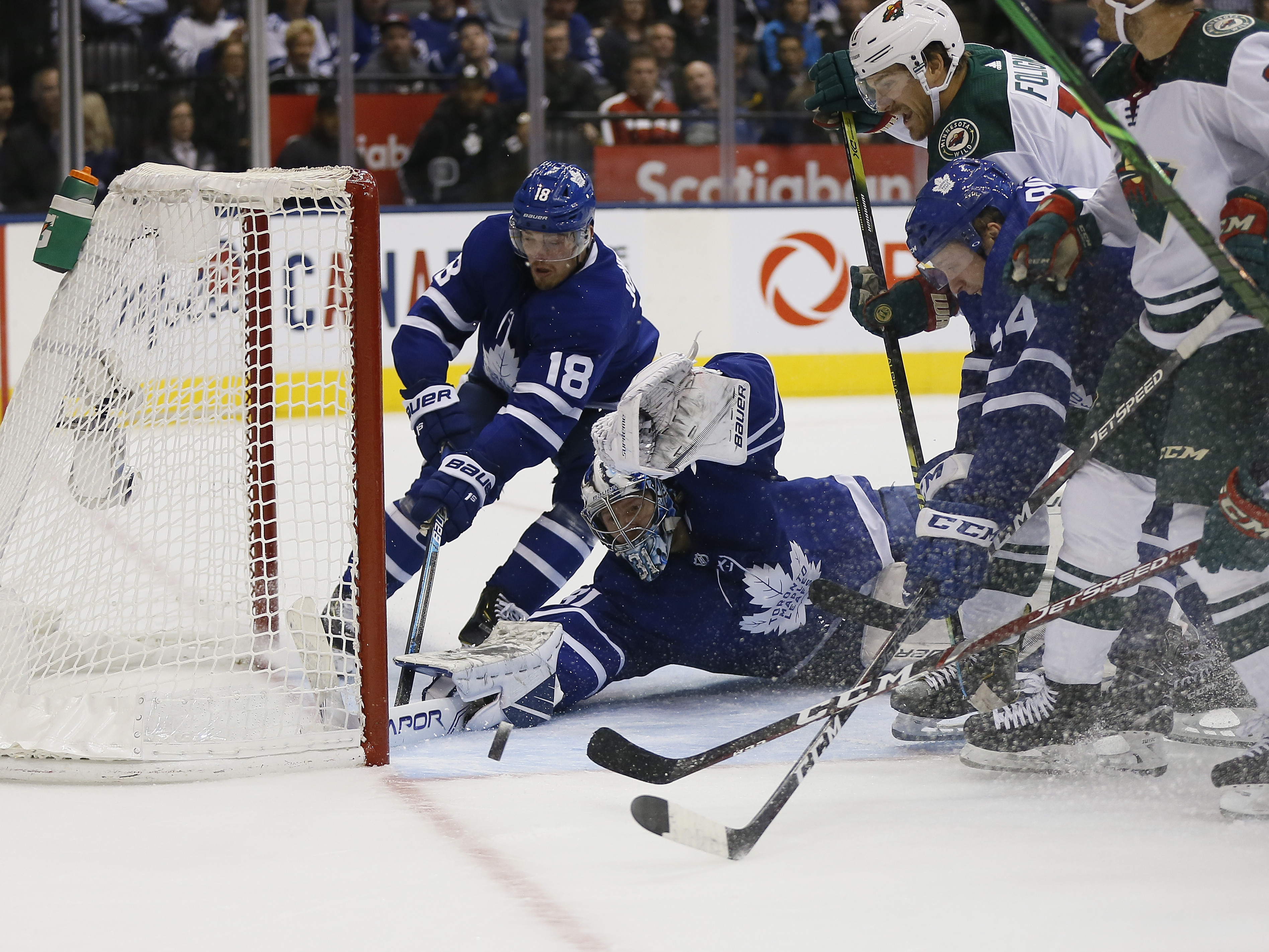 Maple Leafs Overpower the Wild in 4-1 Win