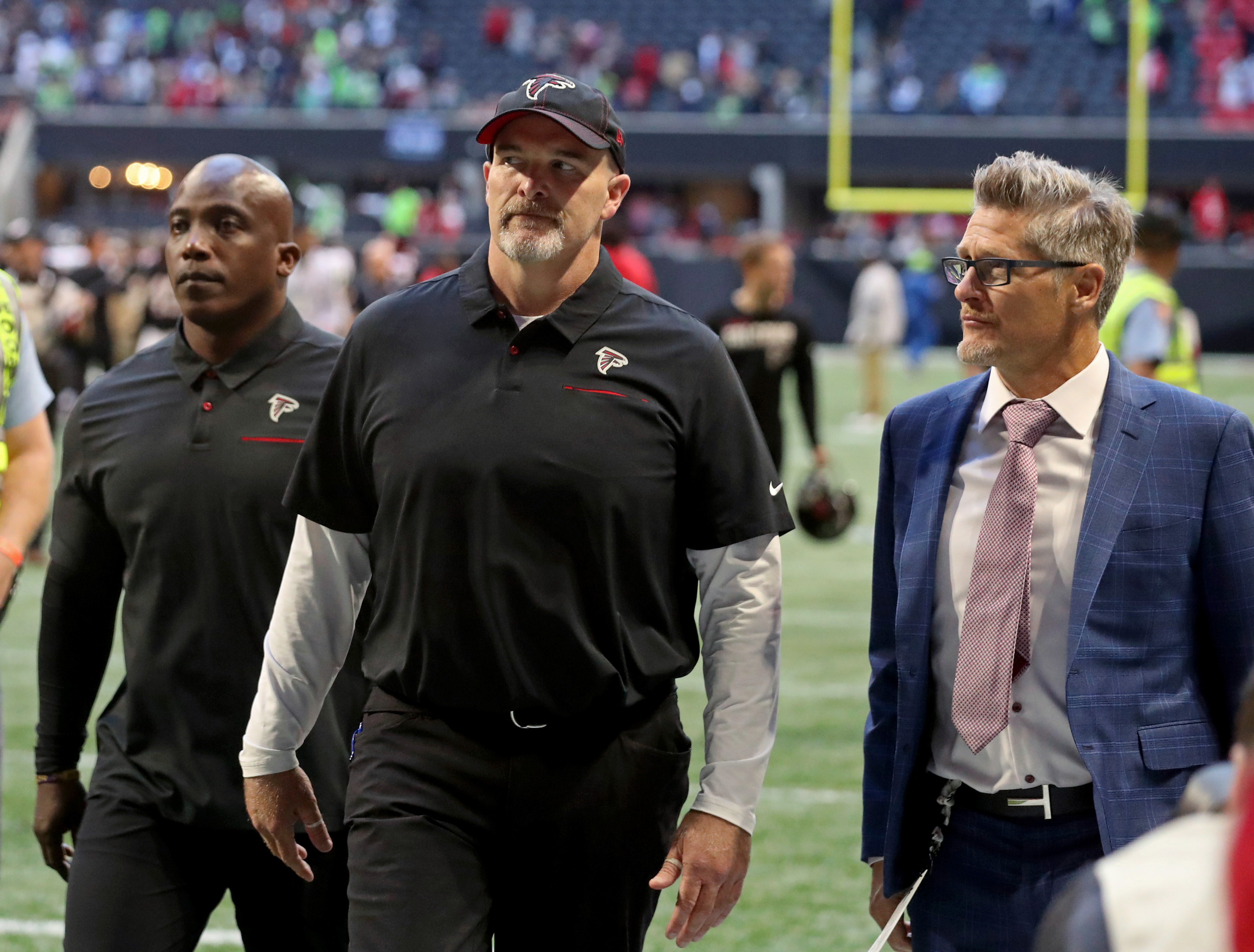 Falcons announce coach Dan Quinn and GM Thomas Dimitroff will return in 2020