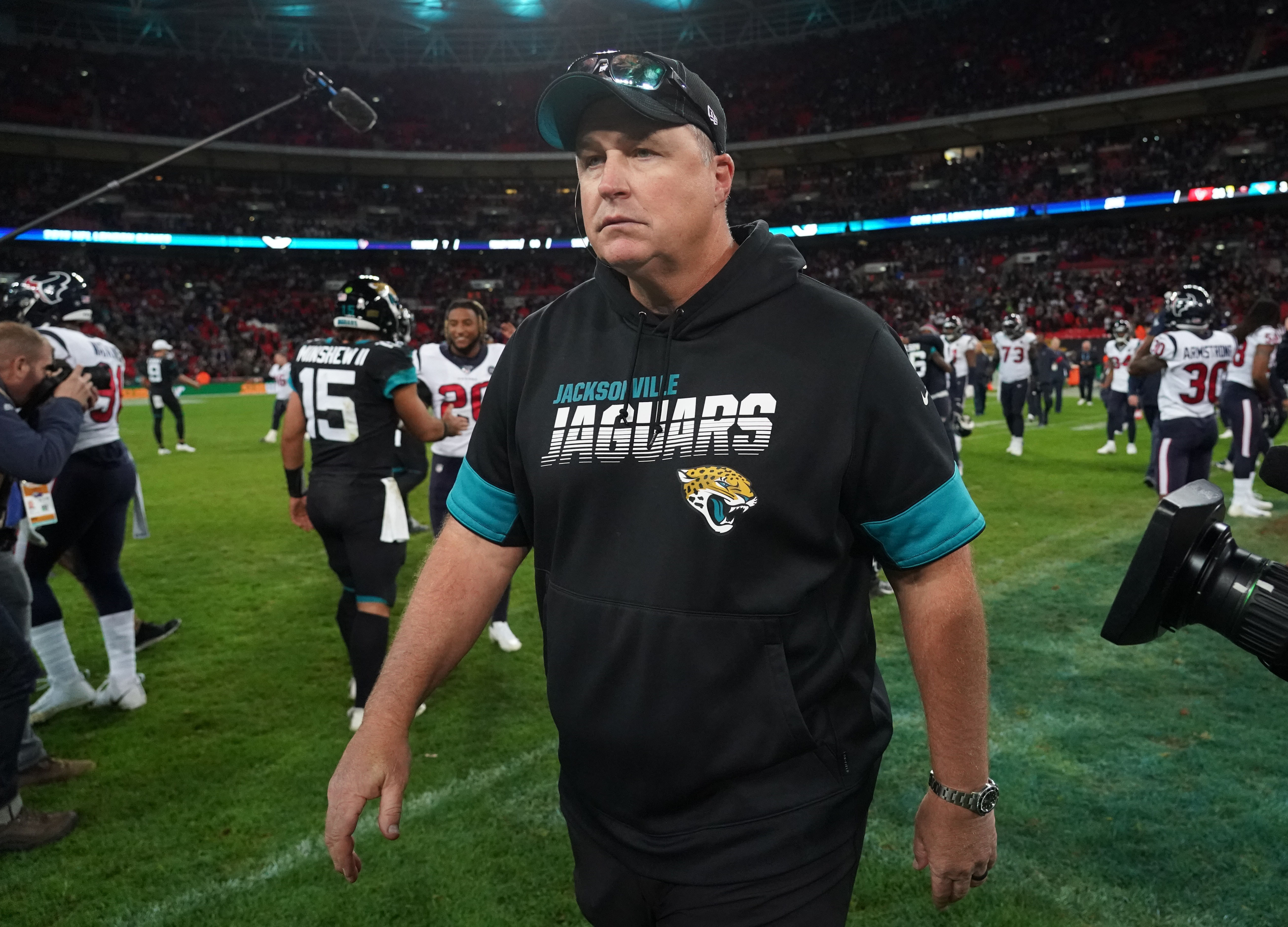 Doug Marrone addresses his job status, how he's 'fighting' for his job