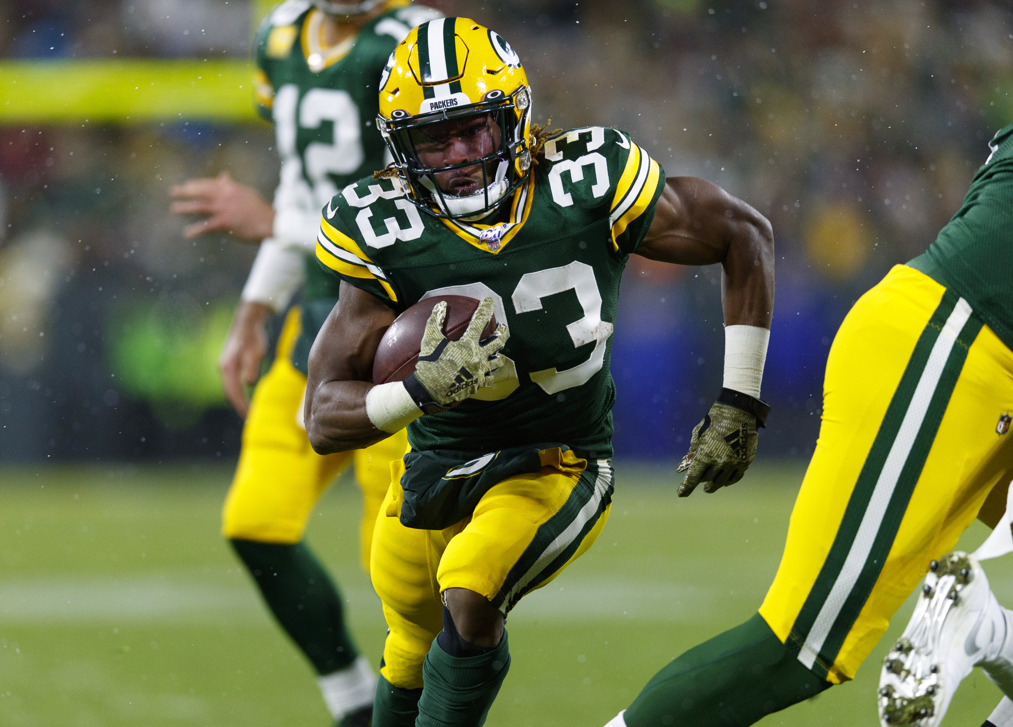 Packers RB Aaron Jones Finds Himself in Elite Company