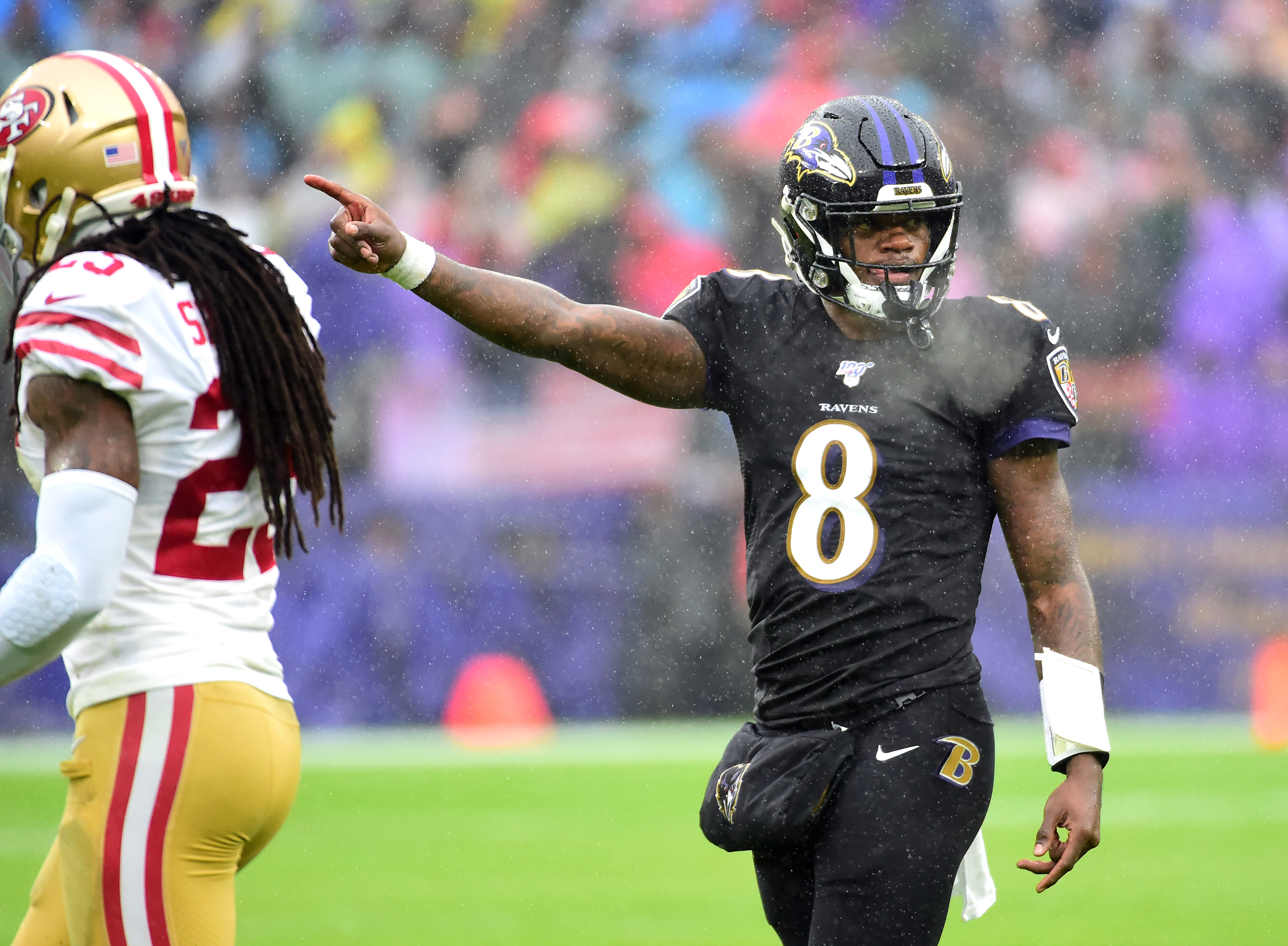 49ers broadcaster has hot take about Lamar Jackson with racial undertones, gets suspended