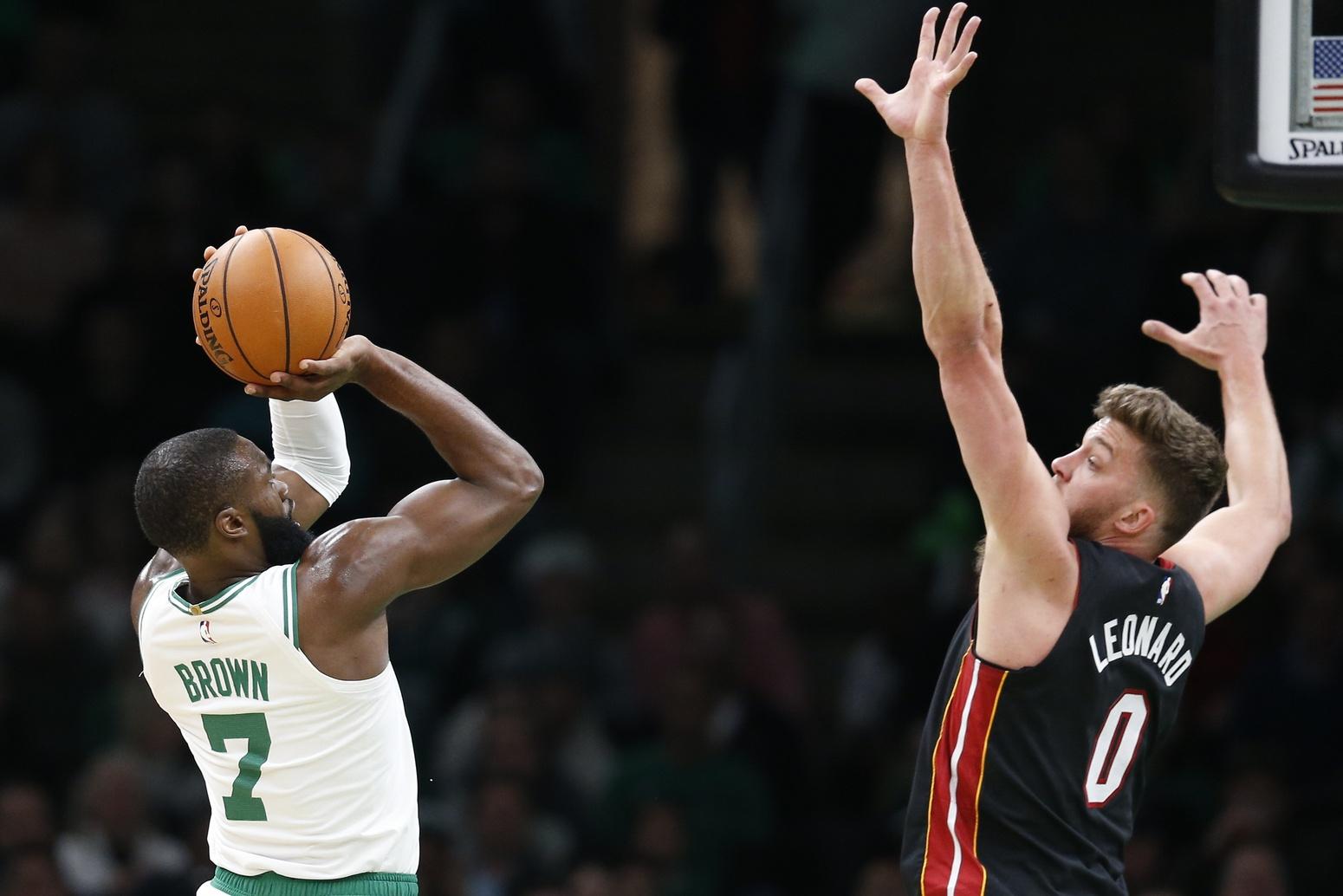 Rapid Recap: Despite Celtics' bad start, Jaylen and Kemba freeze Heat