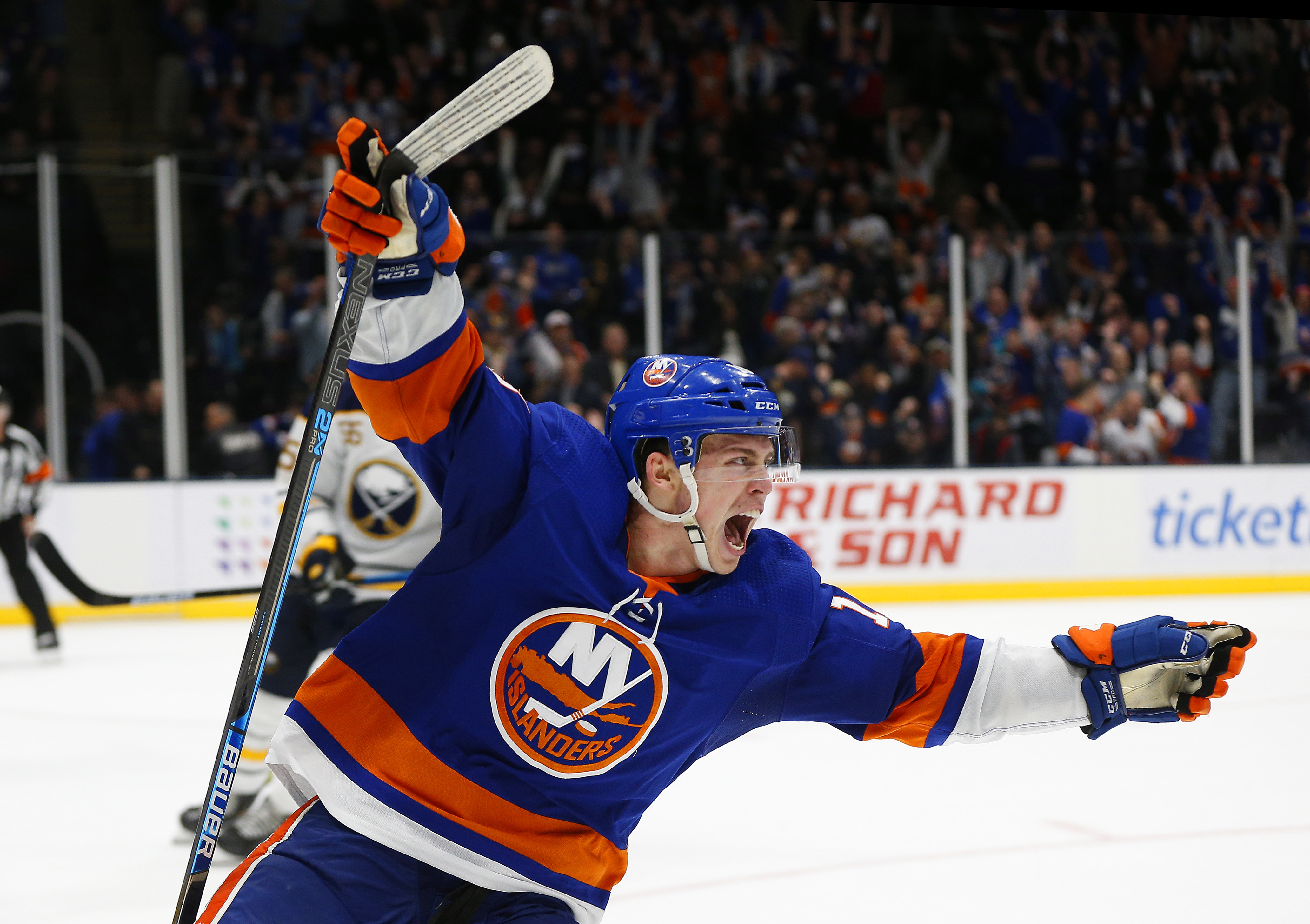 Beauvillier heroics another sign of growth in Isles forward's game