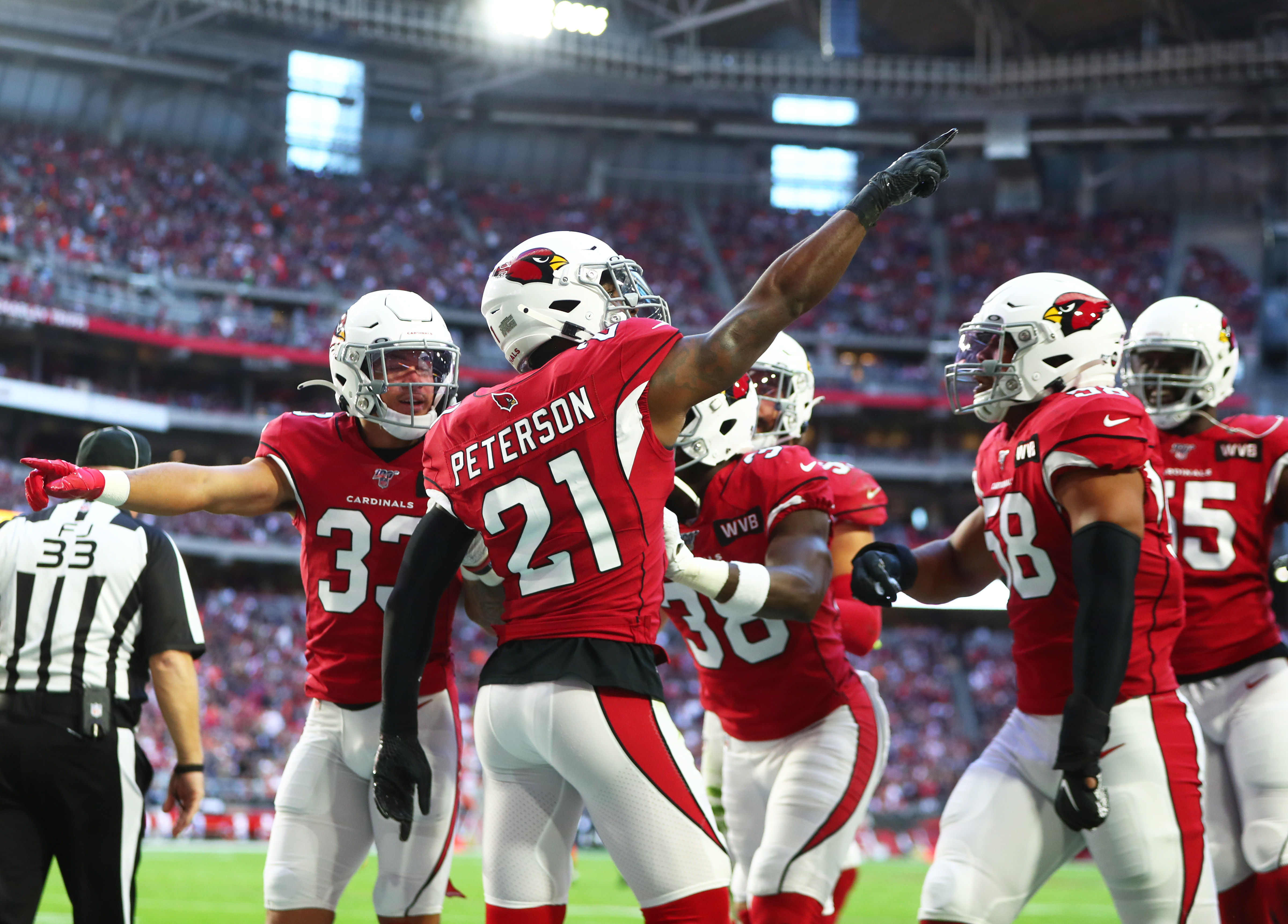 Patrick Peterson addresses future with Cardinals, covering Odell Beckham Jr.