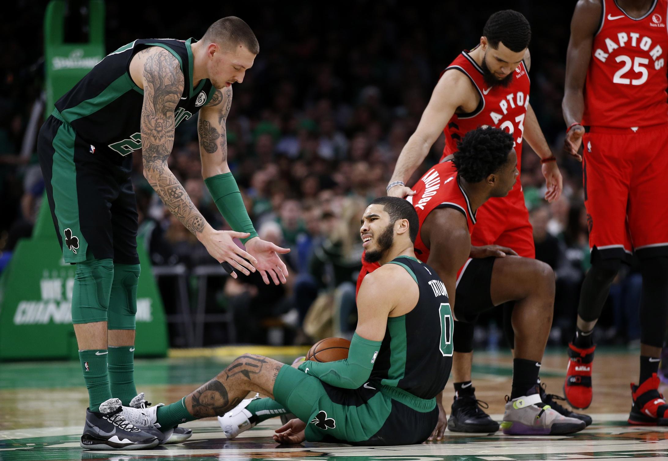 Your Morning Dump...Where the Celtics get a taste of their own medicine