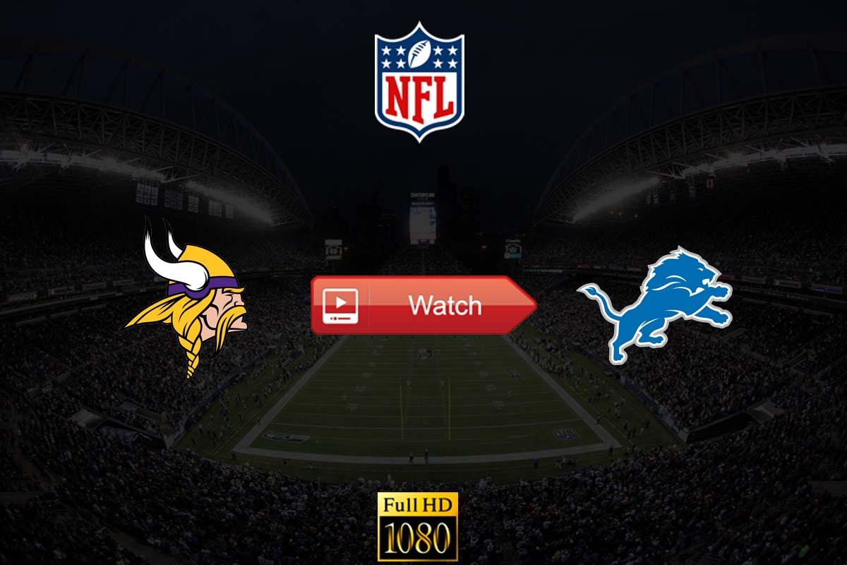 Vikings vs Lions live stream reddit