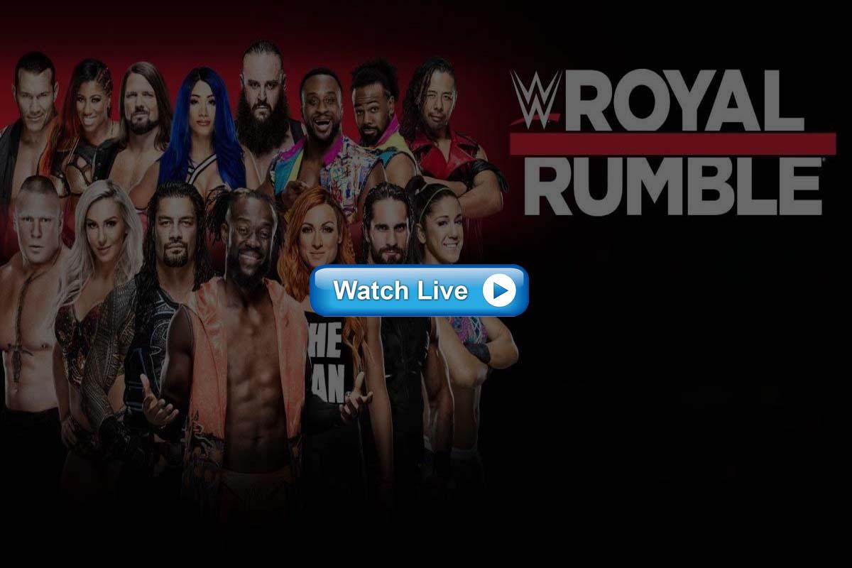 WWE Royal Rumble live streaming Reddit