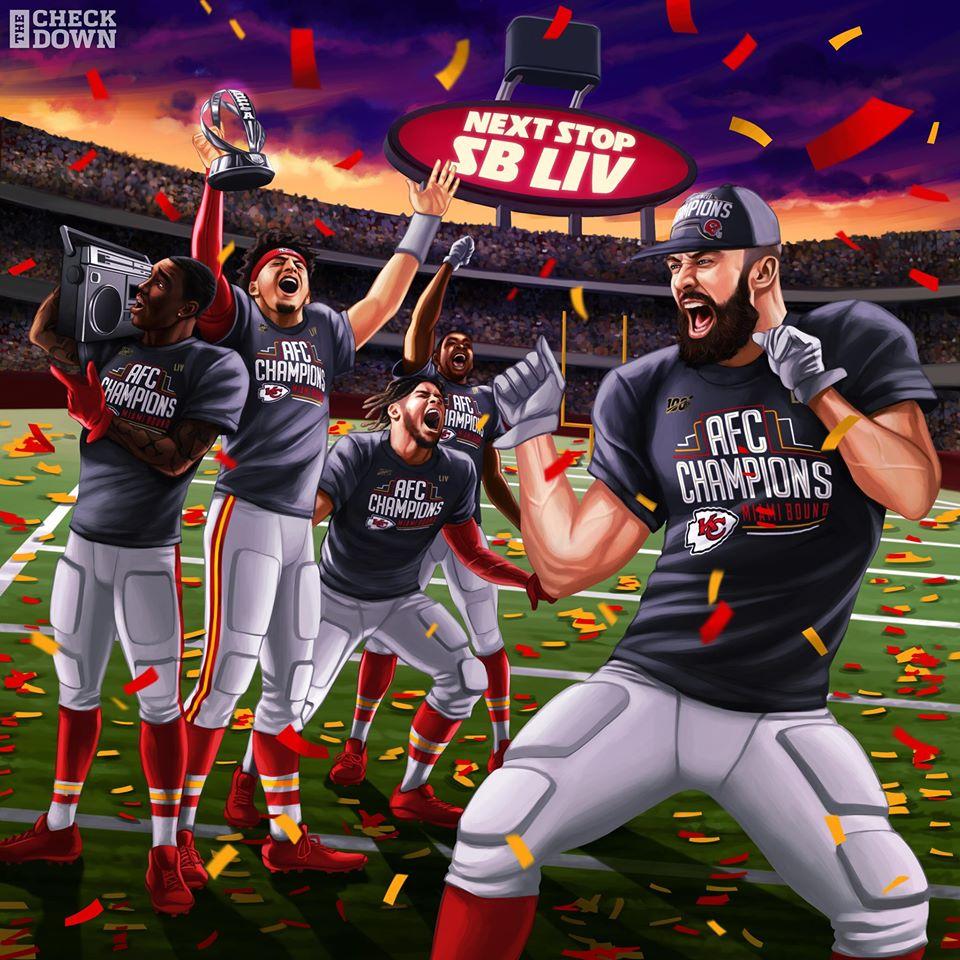 Chiefs in Super Bowl 2020