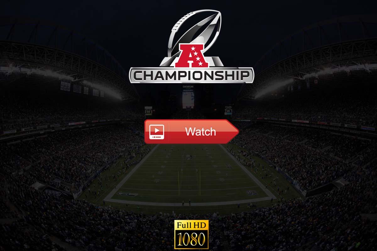 AFC Championship Game live stream Reddit