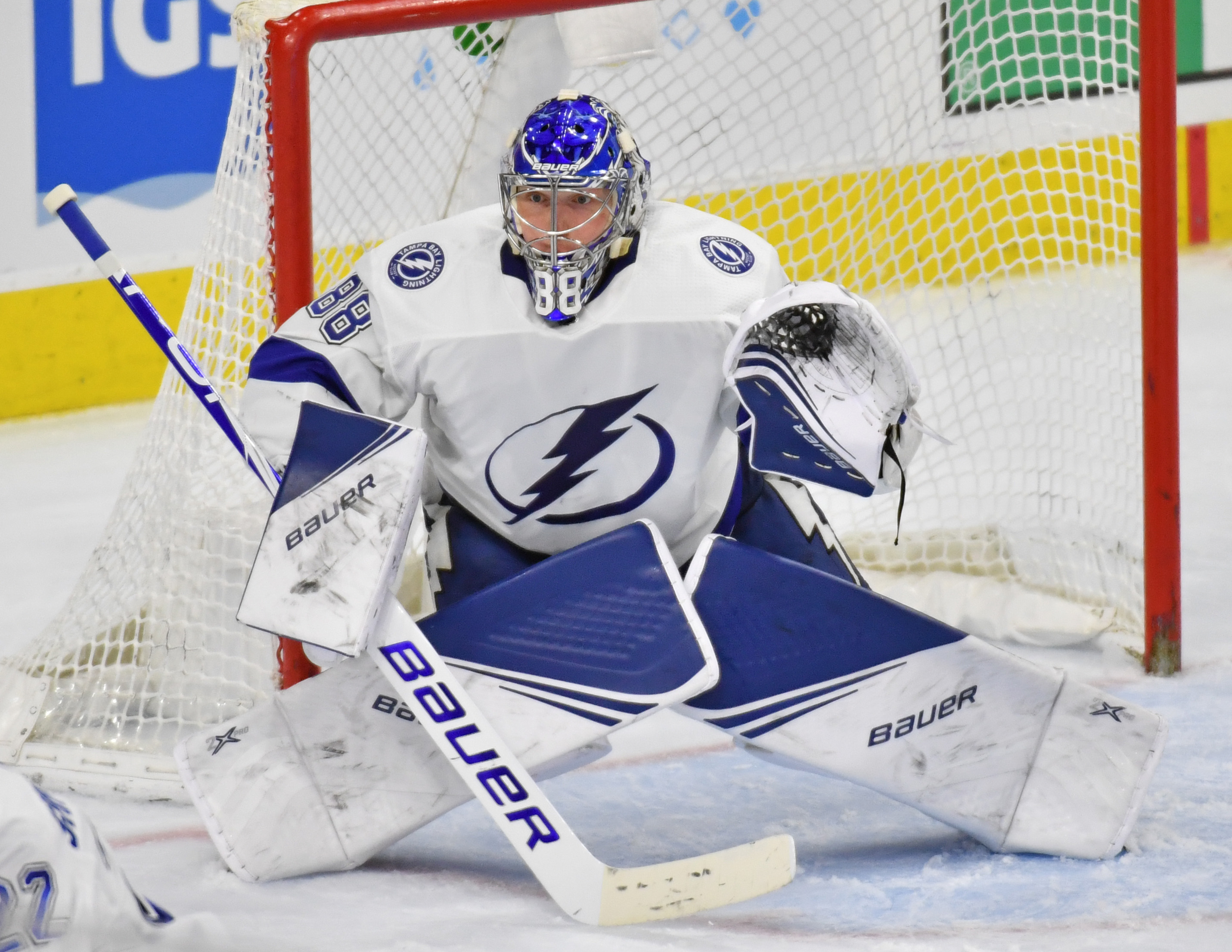 Andrei Vasilevskiy blanks the Stars in Stanley Cup Finals rematch