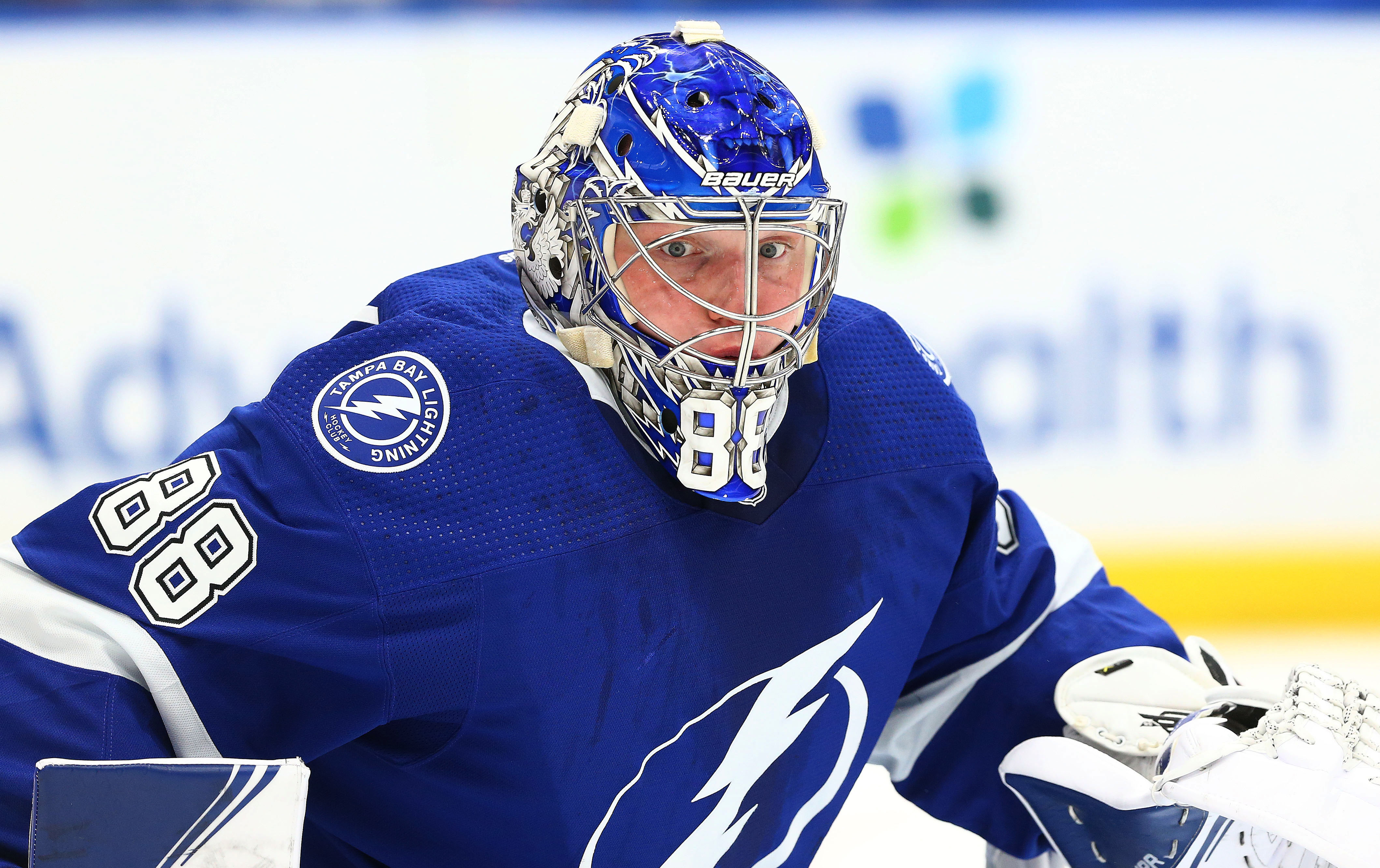 Andrei Vasilevskiy records second career NHL Stanley Cup Playoff shutout