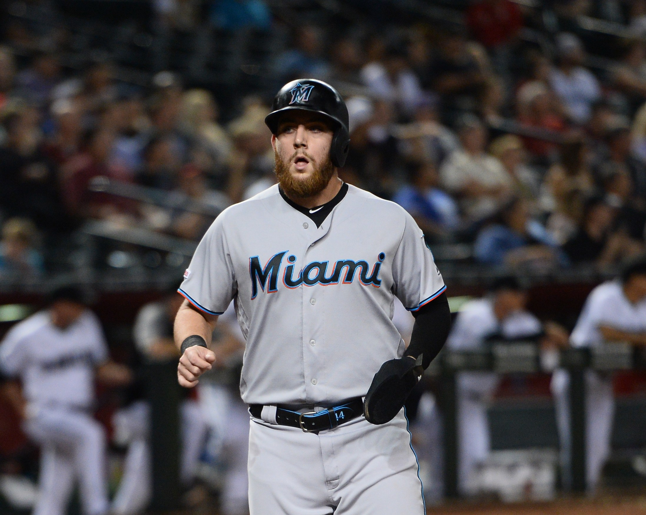 Miami Marlins trade outfielder Austin Dean to the Cardinals