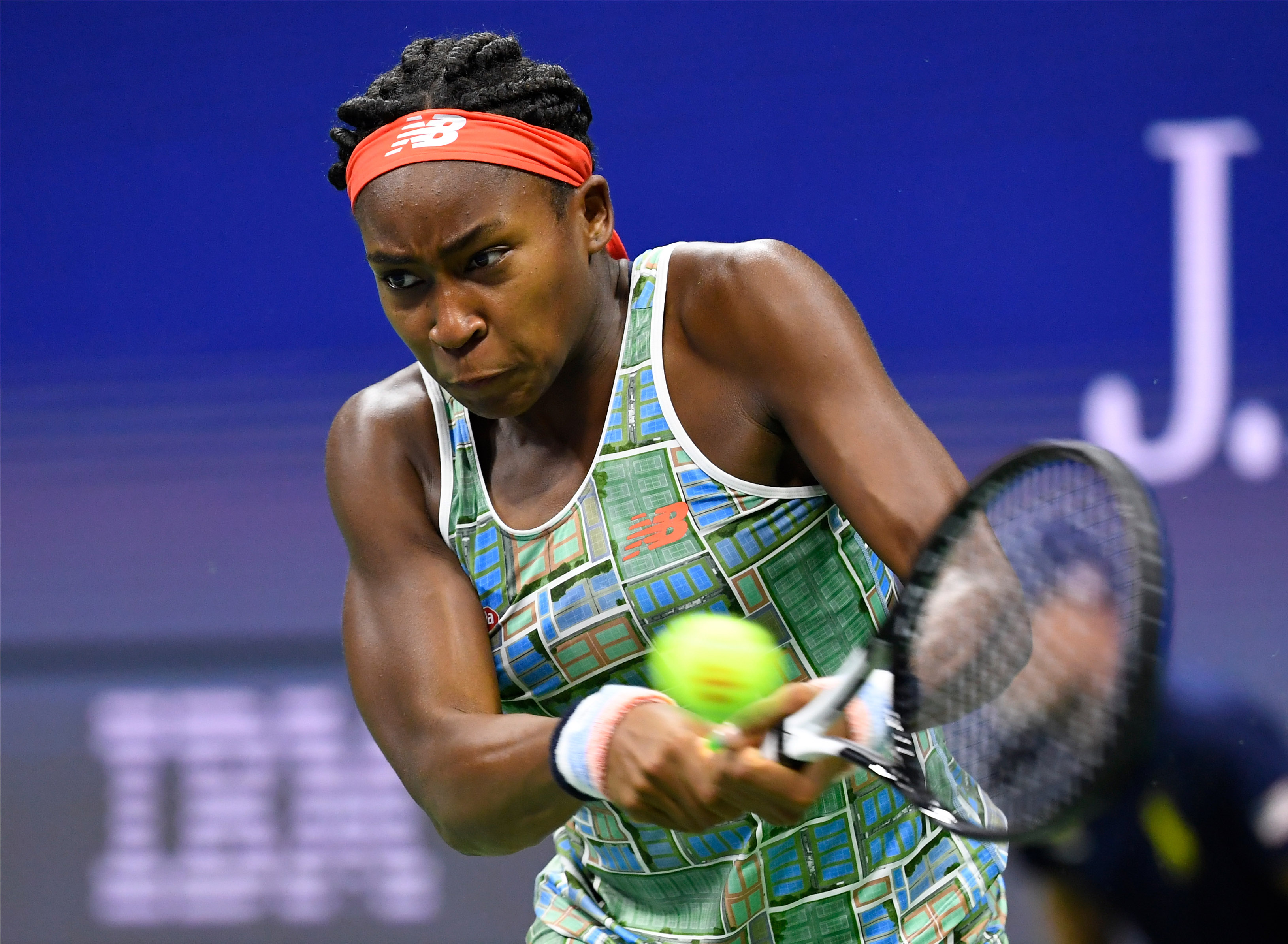 Coco Gauff wins intriguing first round battle at the 2020 Australian Open