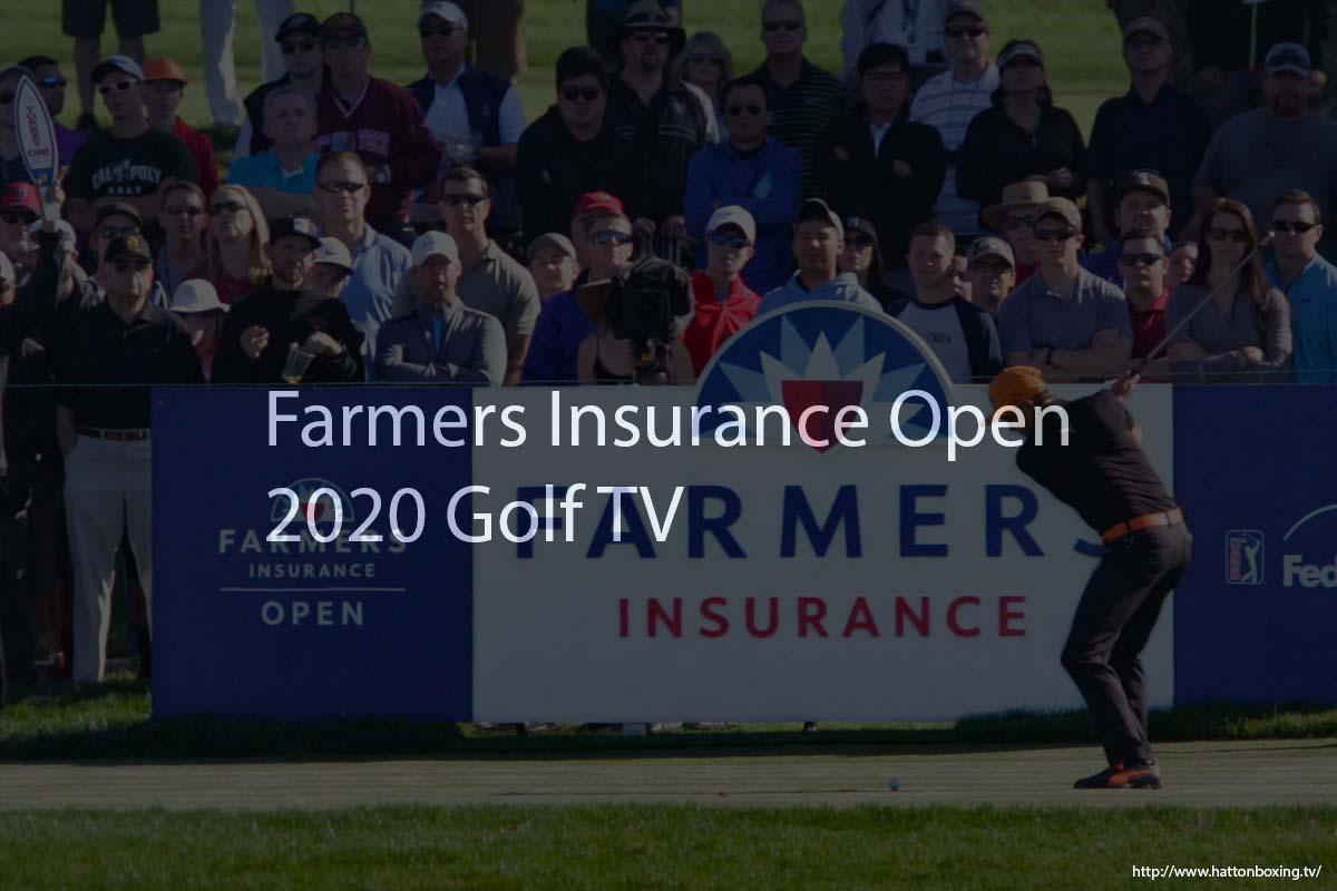 Farmers Insurance Open Live Stream Golf TV