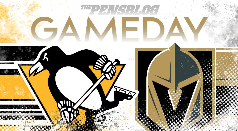Gameday 43: Penguins @ Golden Knights