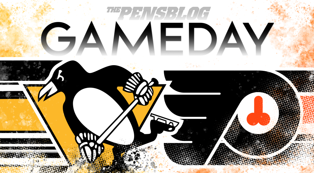 Gameday 2: Penguins @ Flyers