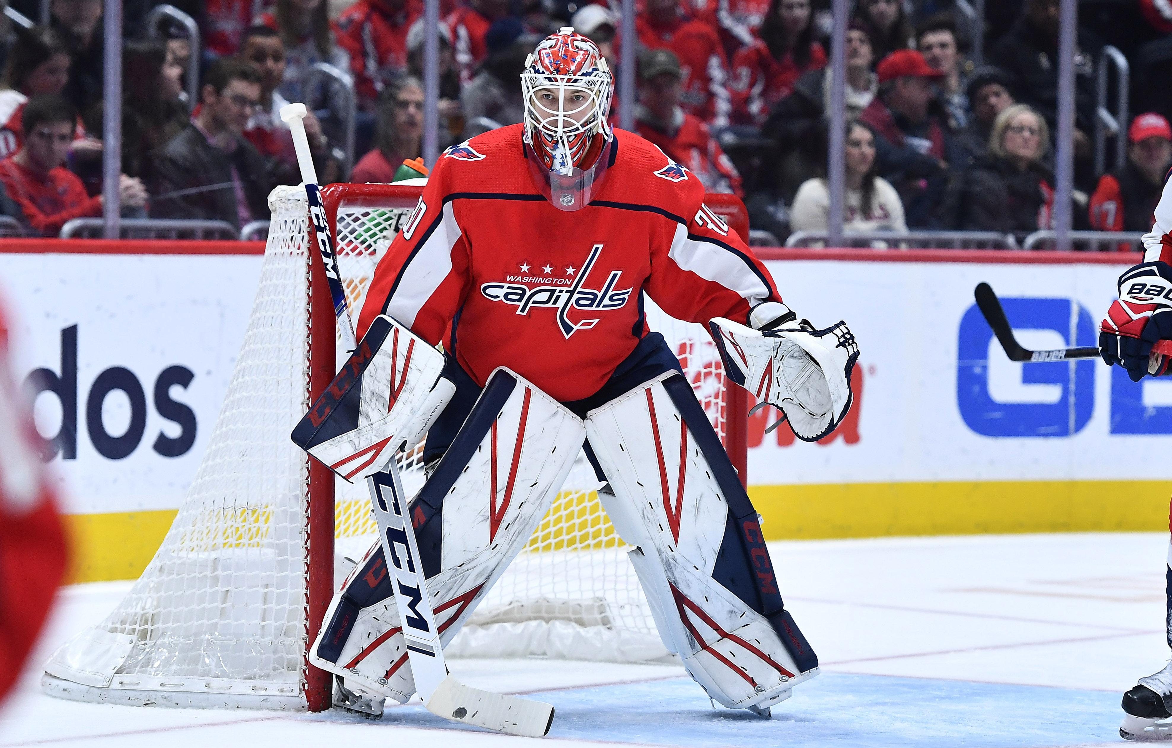 Ilya Samsonov records third career NHL shutout