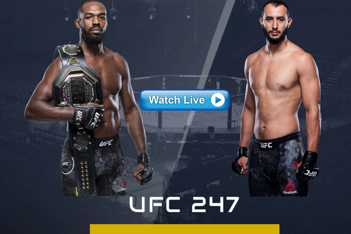 UFC 247 live streaming Reddit