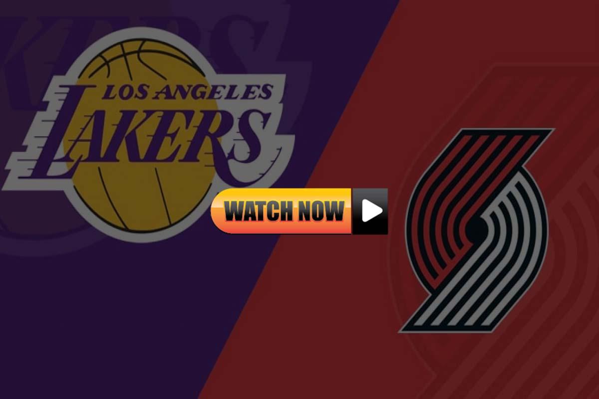 Lakers vs Trail Blazers Live Stream Reddit