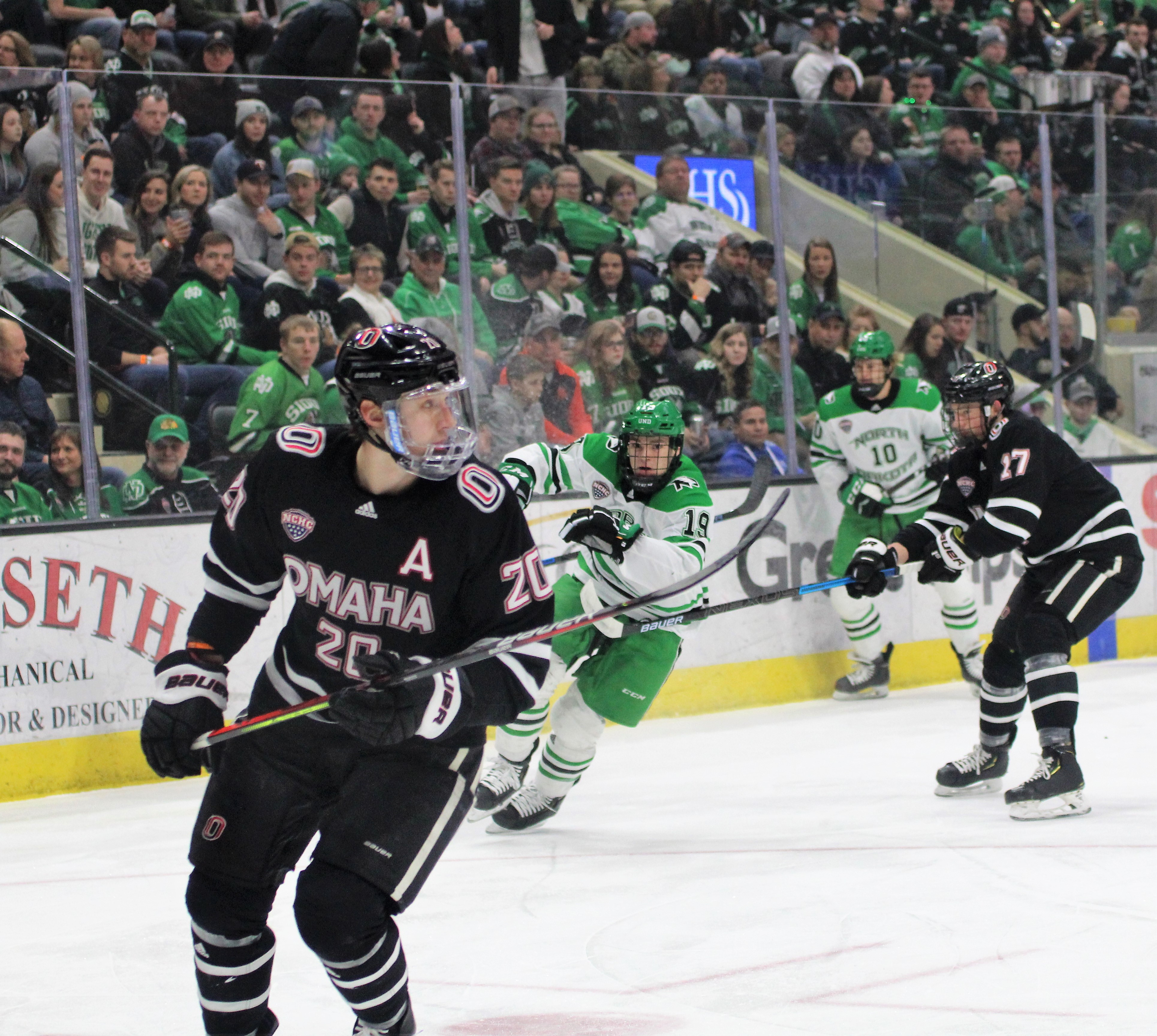 UND Hockey Schedule with Starting Times and Midco Sports Network
