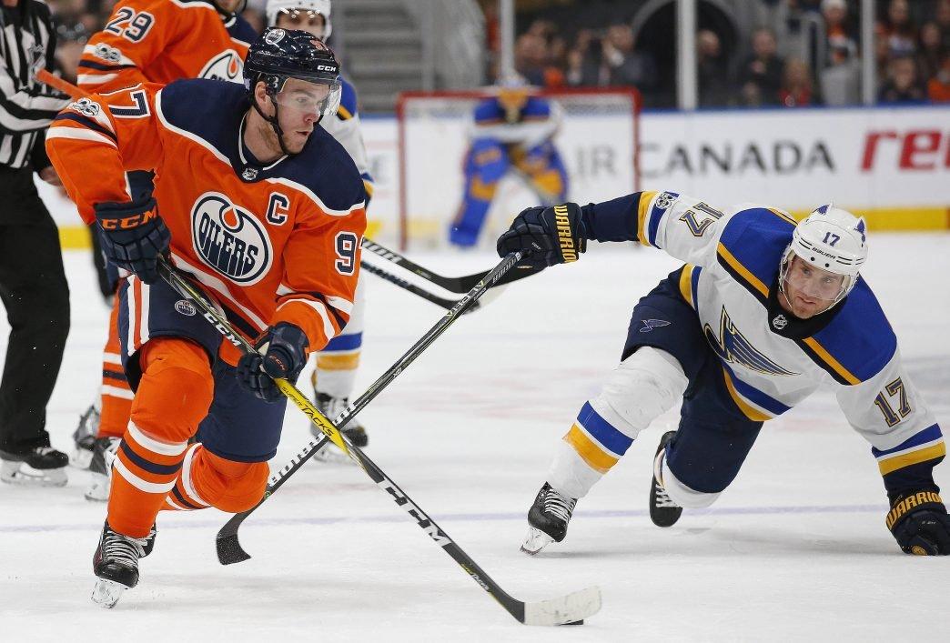 Oilers Gameday: Vs. Blues