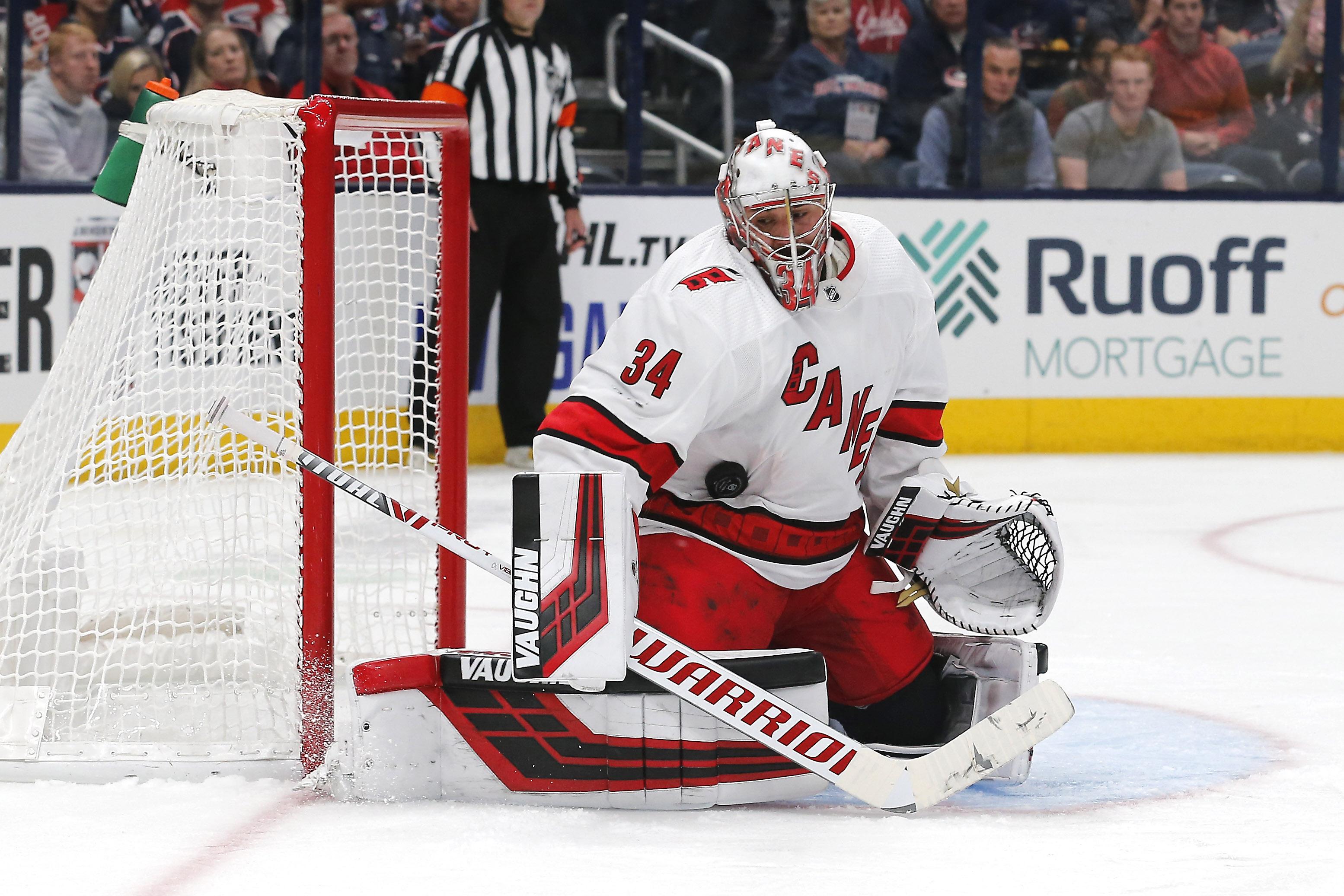 Petr Mrazek records 21st NHL career shutout