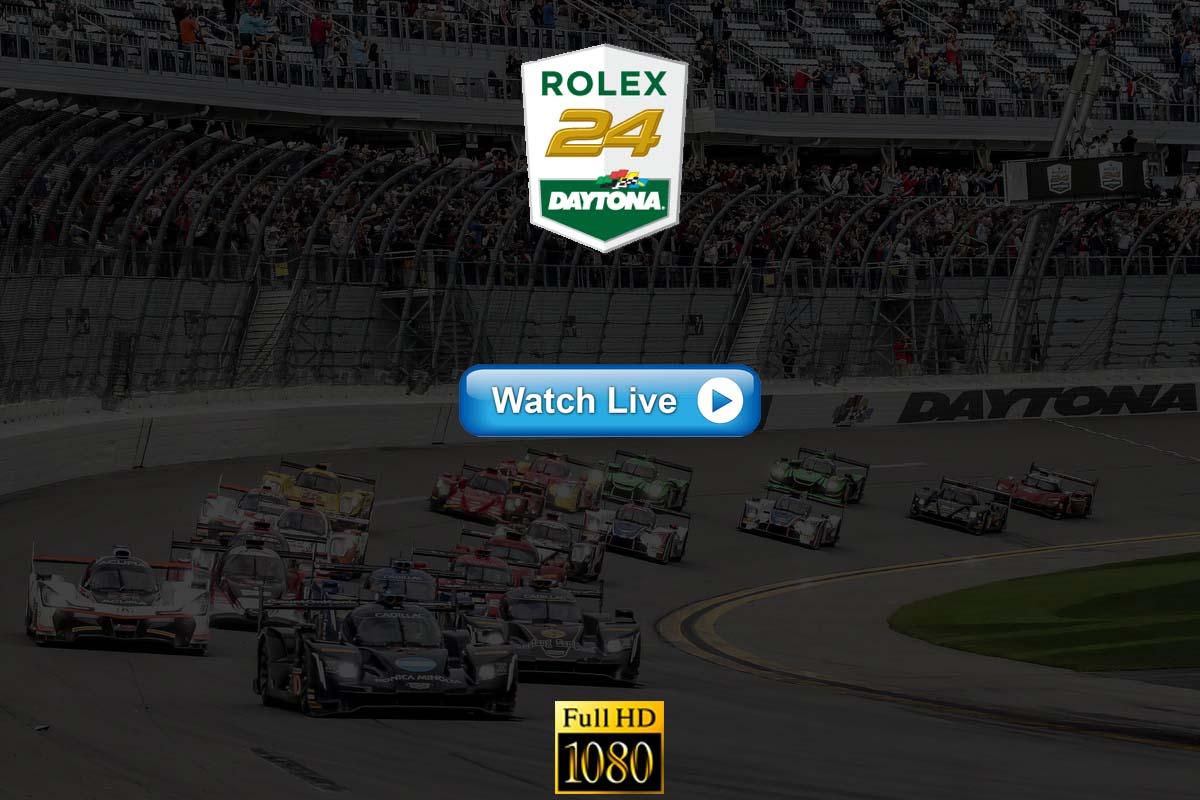 Rolex 24 at Daytona live streaming Reddit