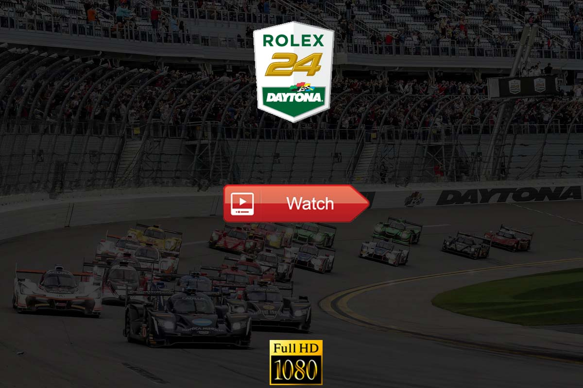 Rolex 24 at Daytona live stream reddit