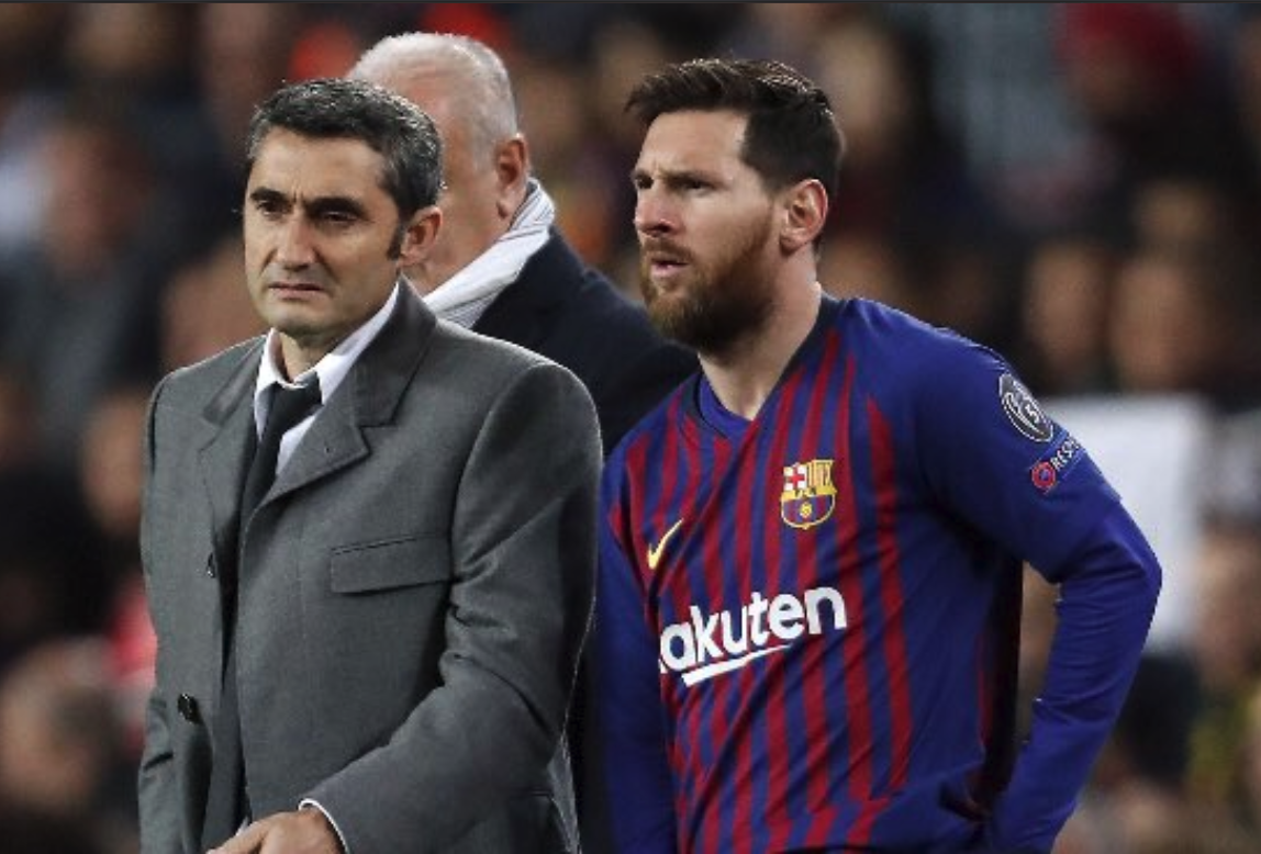 Barcelona shakes up La Liga with Ernesto Valverde firing