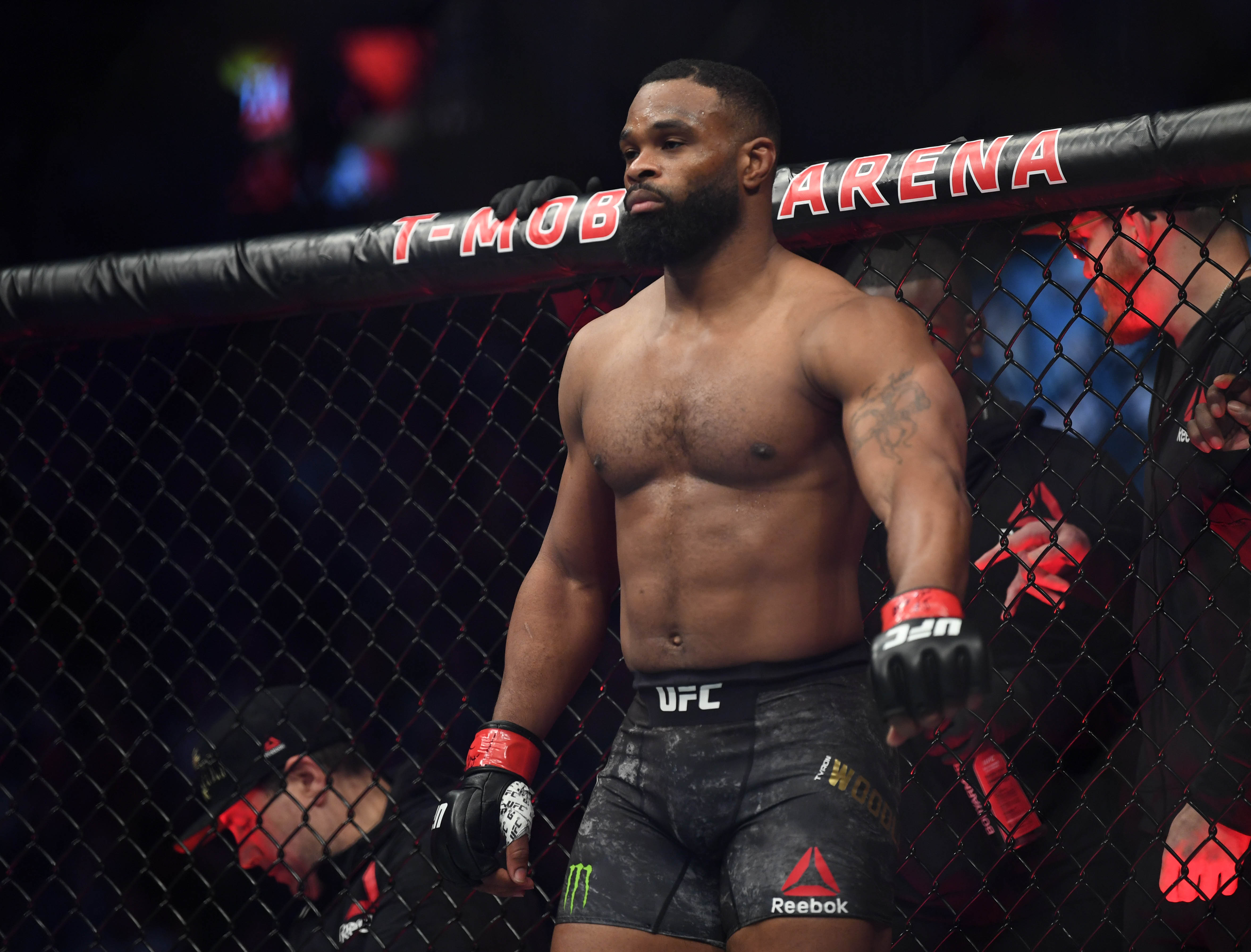 Tyron Woodley Is Not Impressed by the Kamaru Usman Vs. Colby Covington Fight