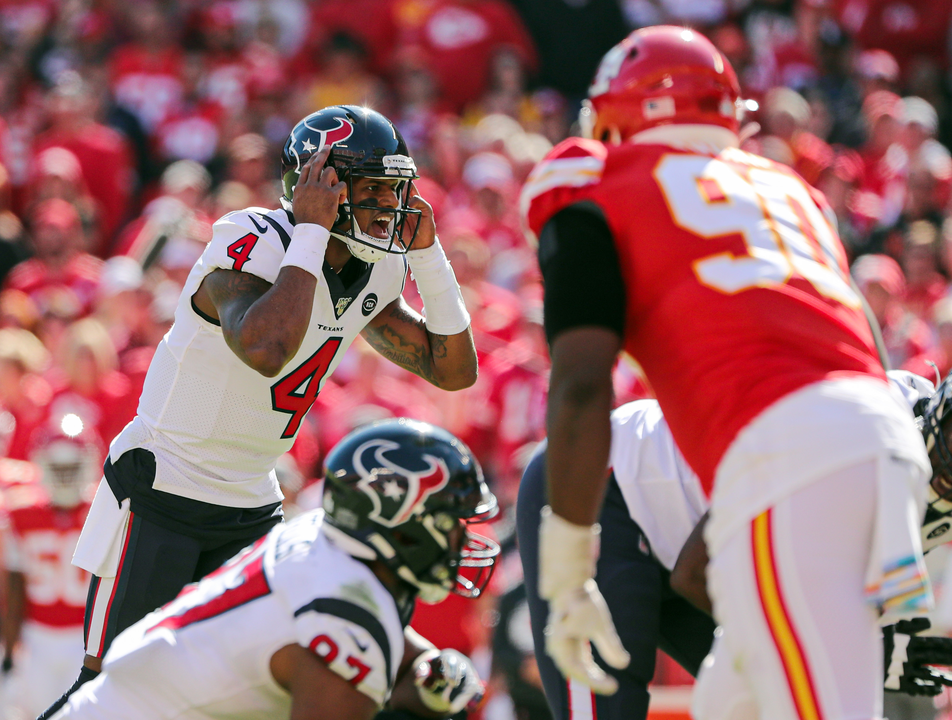 Deshaun Watson:  The only choice for Houston, is to trade their QB away