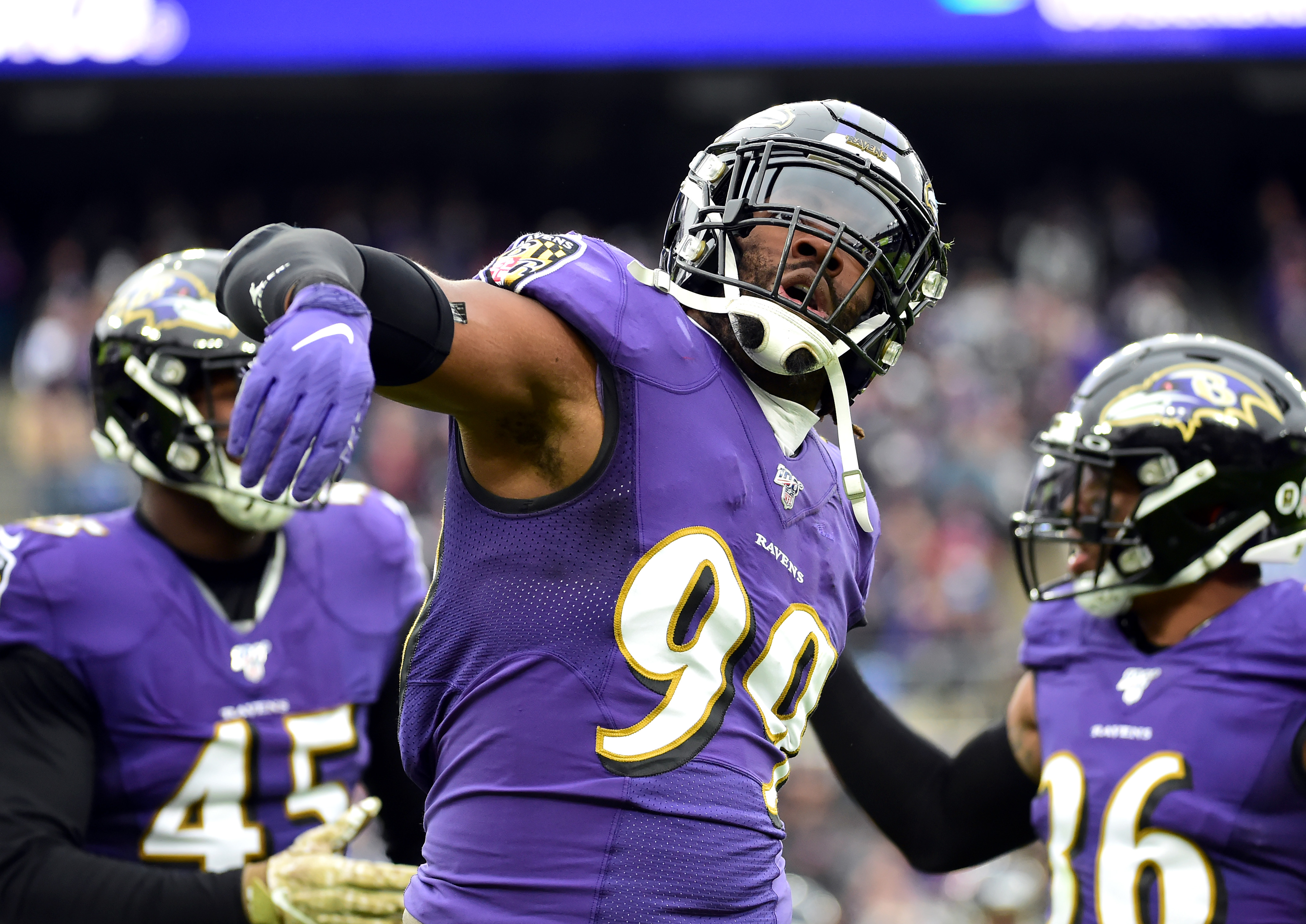 Ravens could potentially tag and trade Matthew Judon