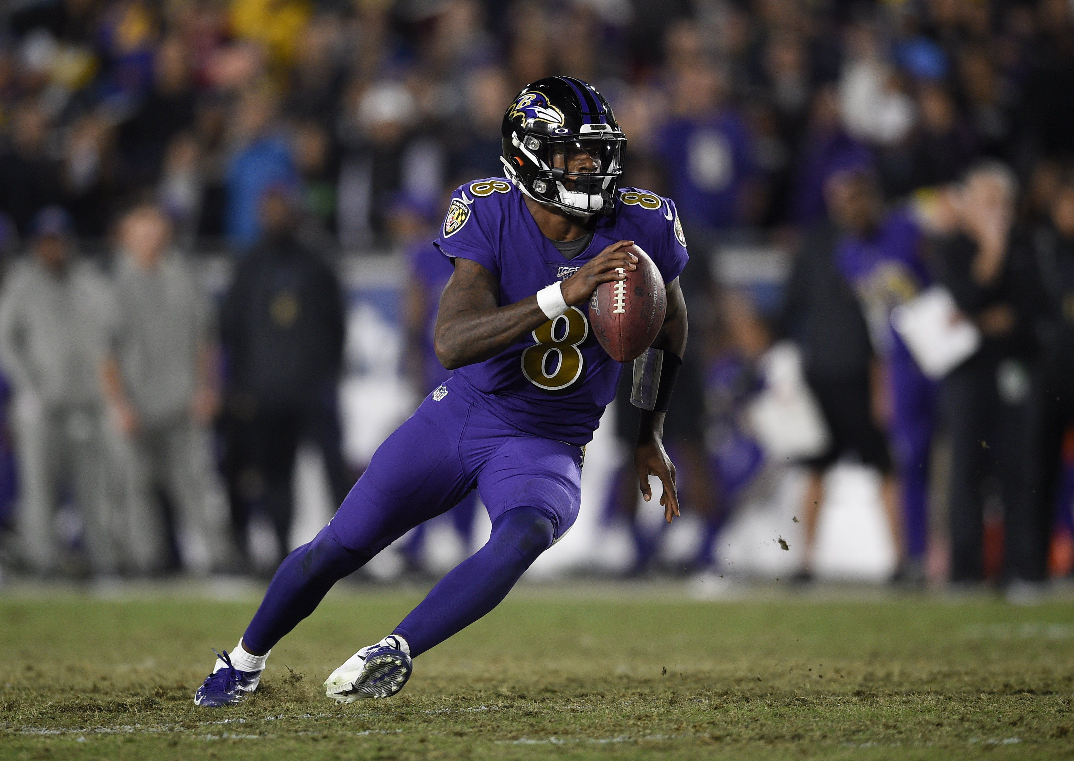 Titans 'don't want to end up on the highlight reels' defending Lamar Jackson