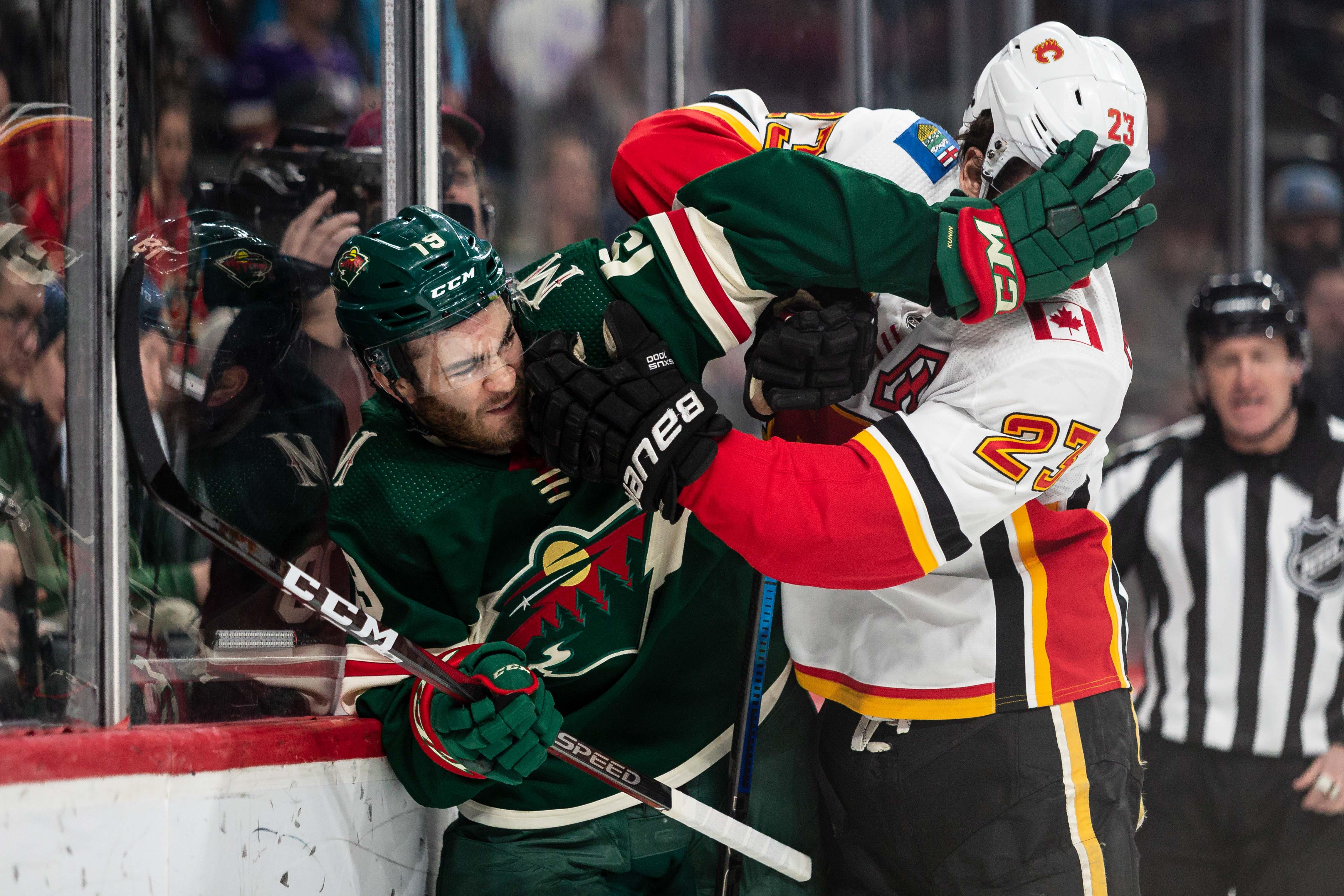Inconsistent Effort Dooms Wild in 2-1 Loss to Calgary