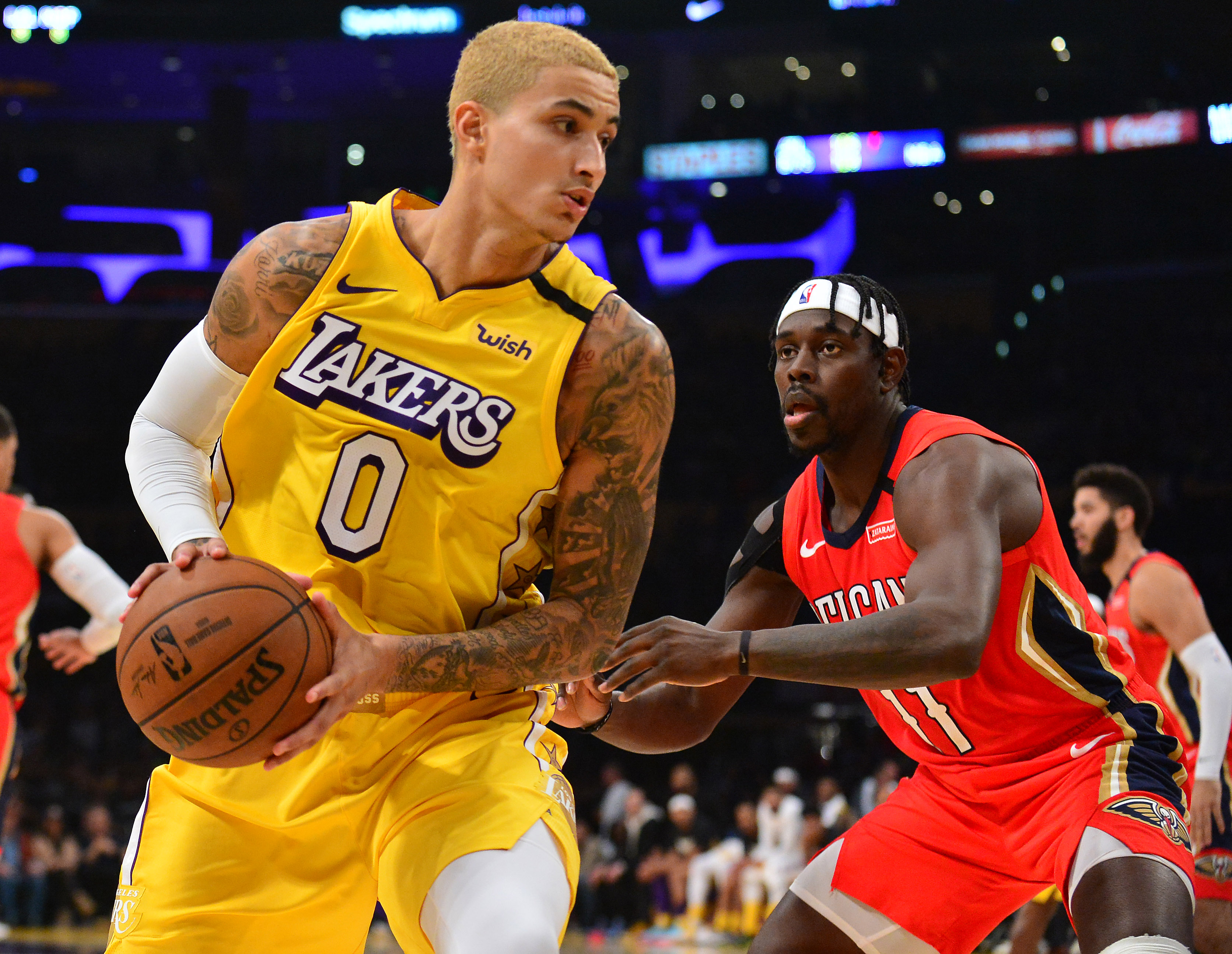 Lakers' Kyle Kuzma Seeking a 'Sizable' Contract This Offseason