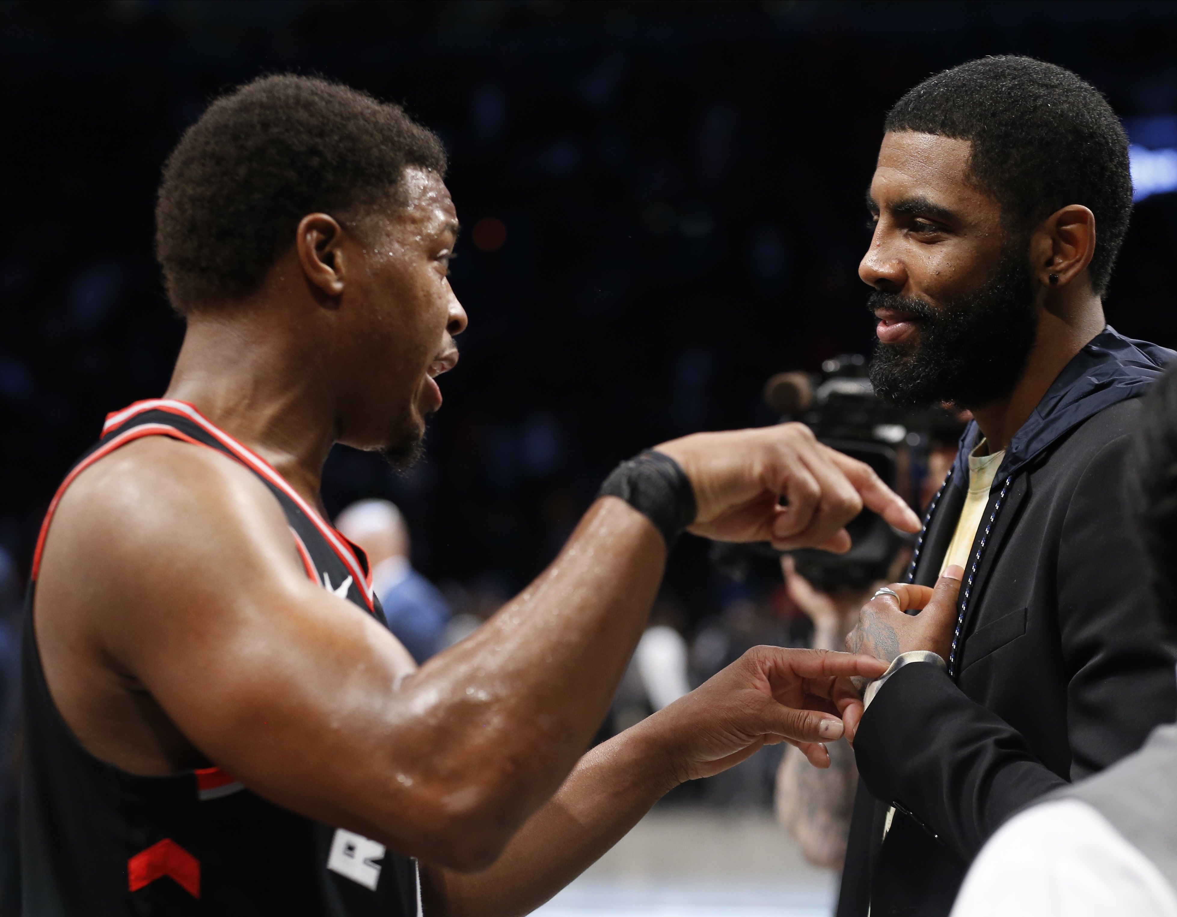 Kyrie Irving slams critics who ripped him for comments about Nets teammates
