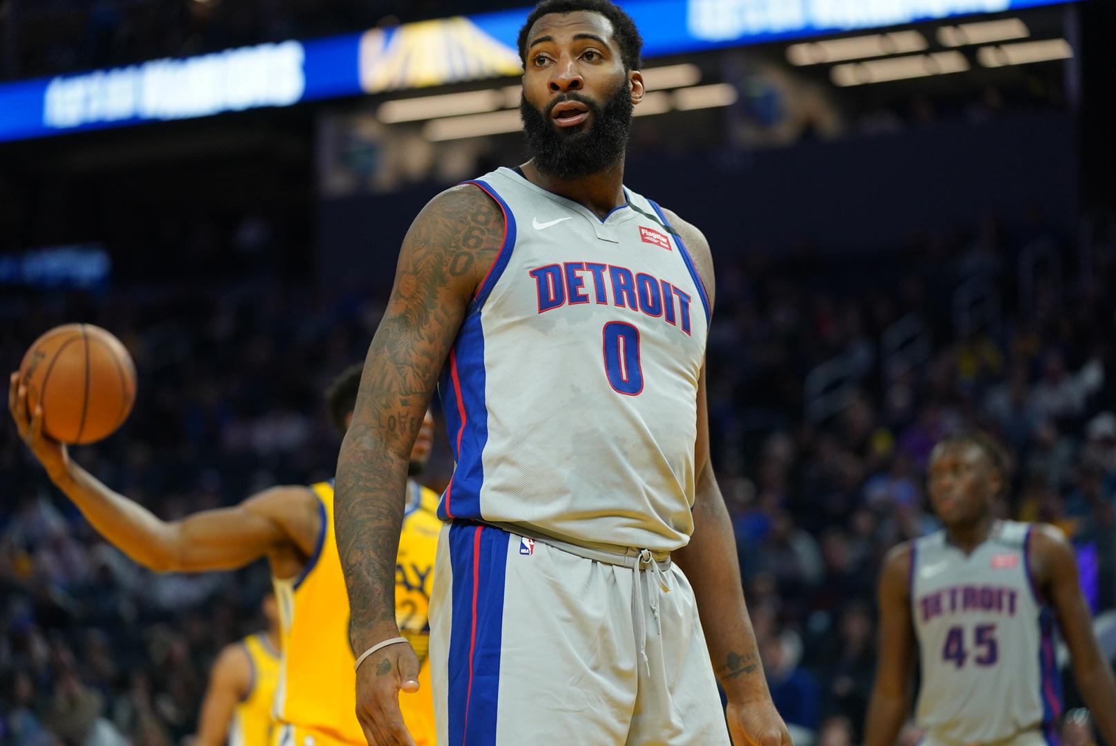 Pistons no longer plan to trade Andre Drummond, despite rumors