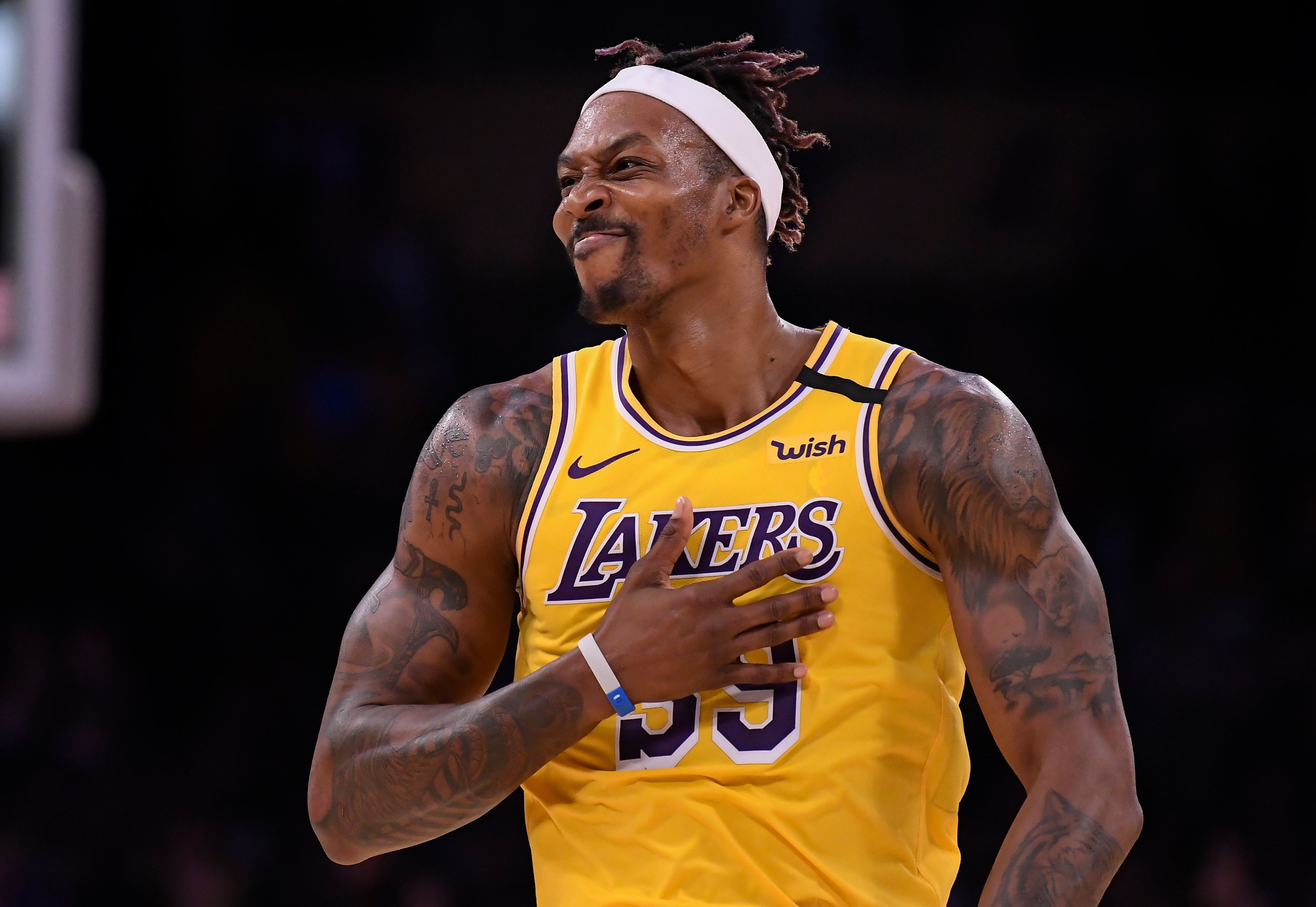 What happened between Dwight Howard and the Lakers?