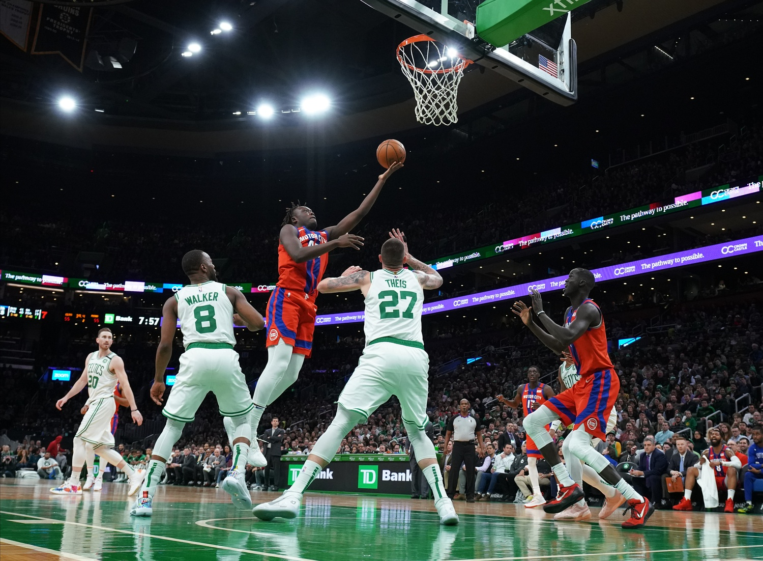 Your Morning Dump... Giving up easy buckets in transition: a memoir by last night's Celtics