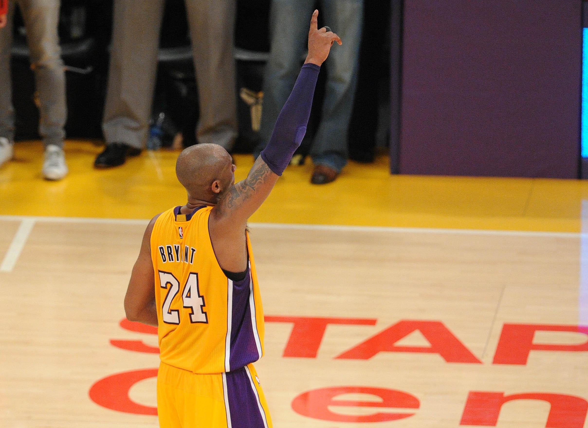 ESPN to re-air Kobe Bryant's final NBA game on Monday night