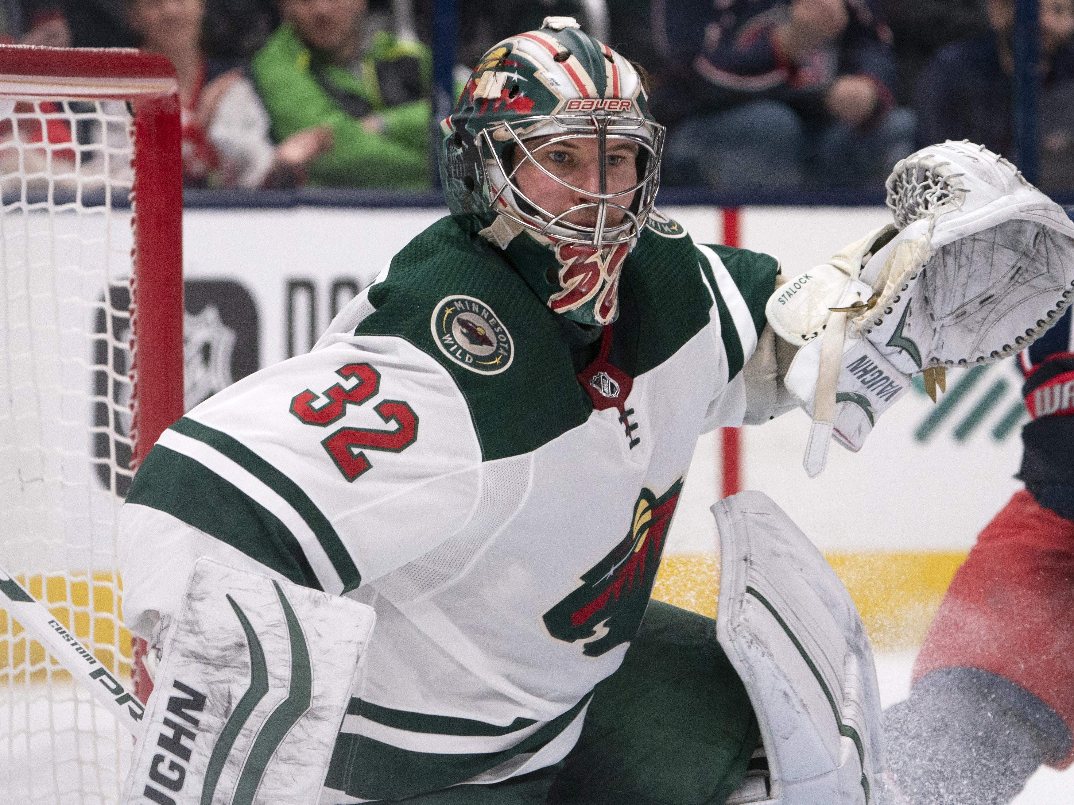 Alex Stalock registers ninth NHL career shutout