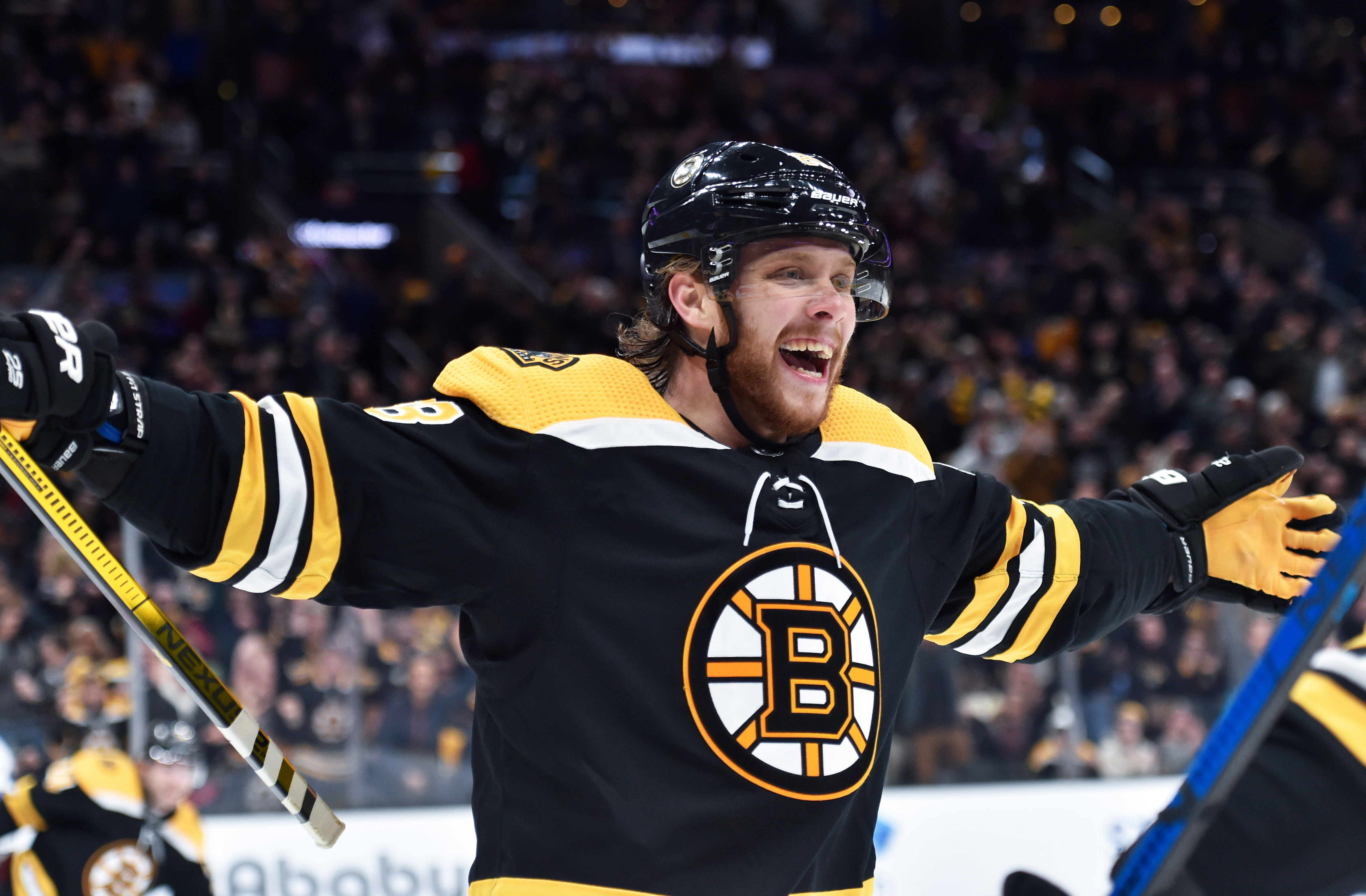David Pastrnak notches ninth career NHL hat trick