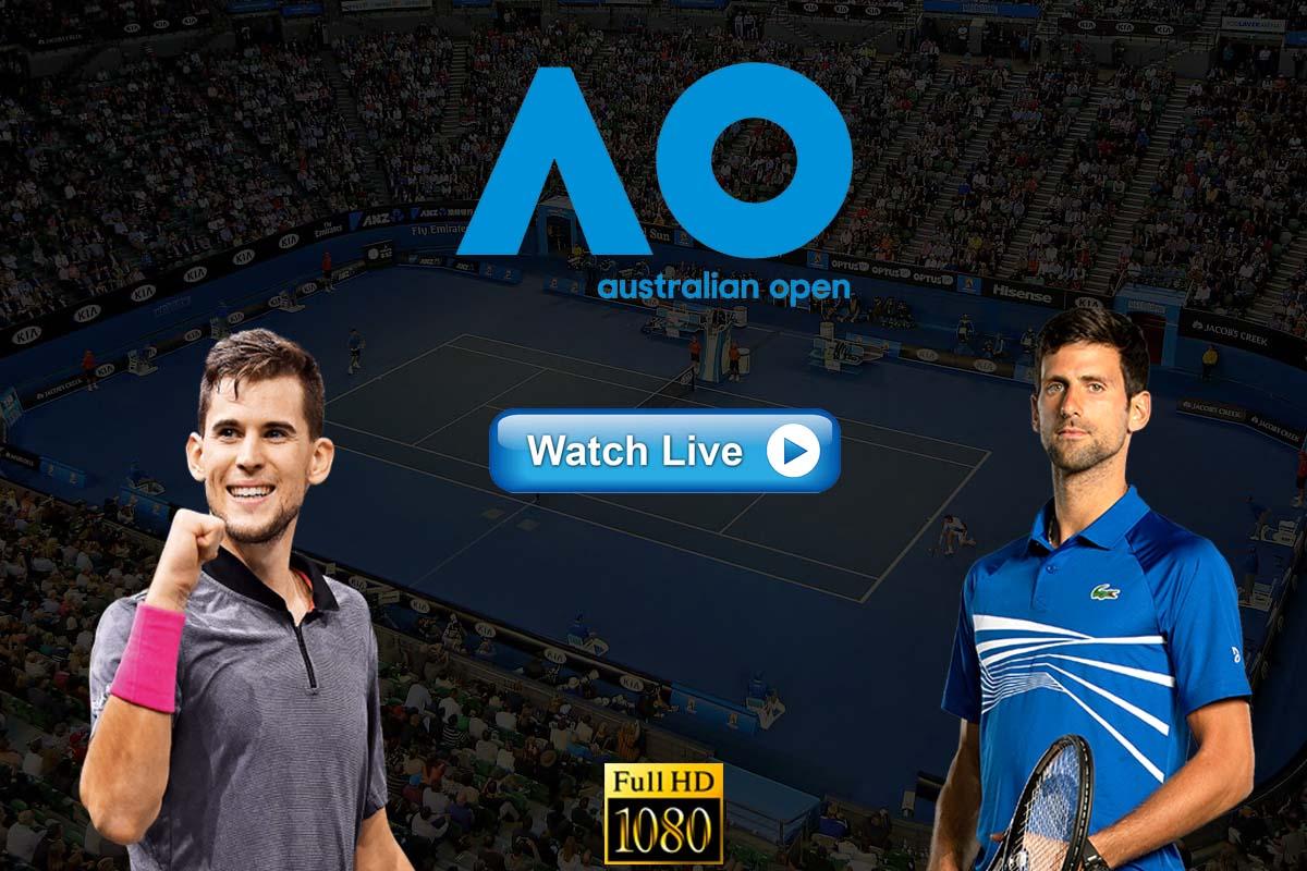 Djokovic vs Thiem Live Streaming Reddit