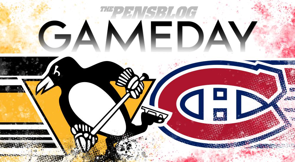 GAMEDAY 56: Penguins vs. Canadiens