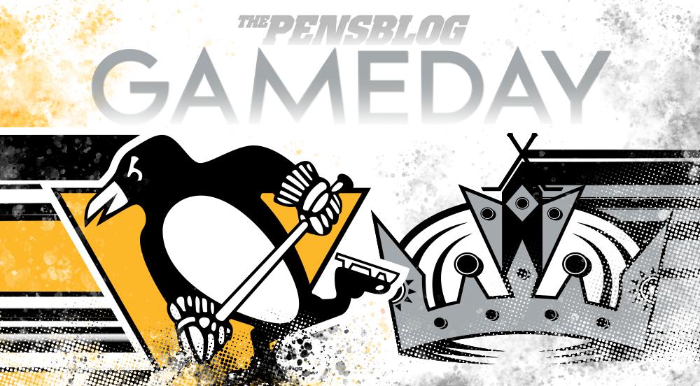 Gameday 62: Penguins @ Kings