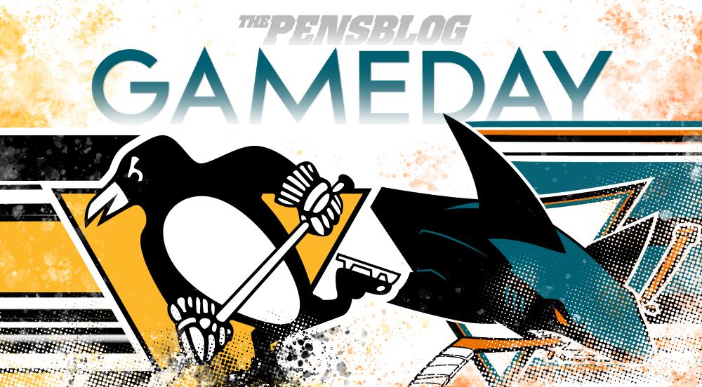 Gameday 64: Penguins at Sharks